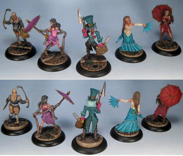 Female, Horrors, Malifaux, Redchapel Gang, Resurrectionists, Steampunk