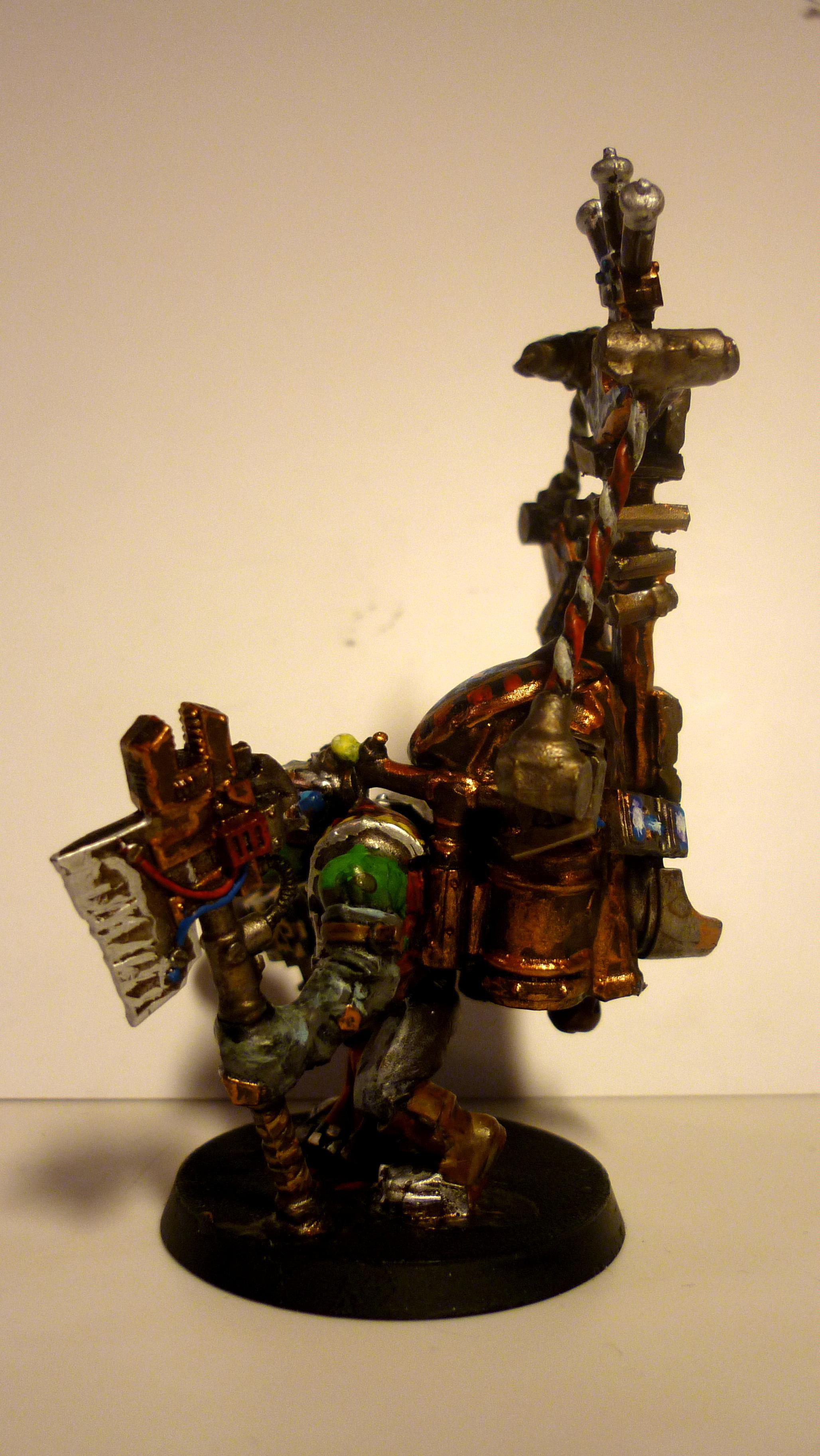 Big Mek, Conversion, Mekboy, Orcs, Orks