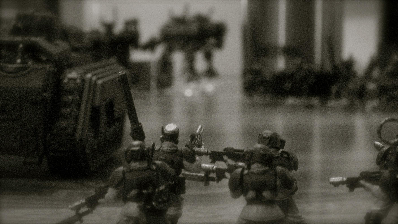 Imperial Guard, Tau, Warhammer 40,000