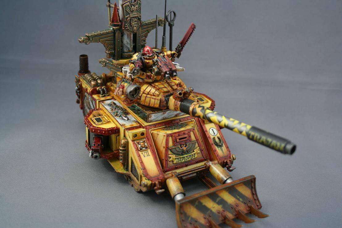 Conversion, Imperial Fists, Predator, Space Marines