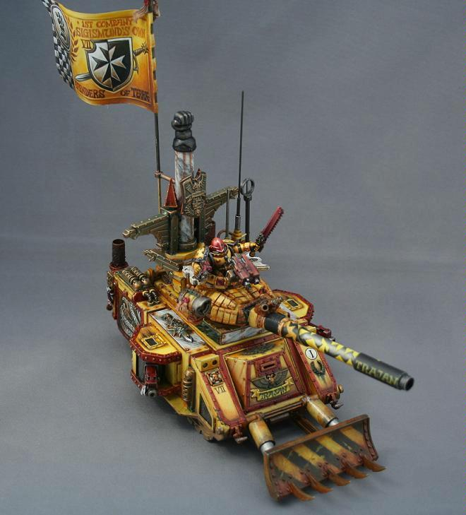 Awesome, Imperial Fists, Predator, Space Marines