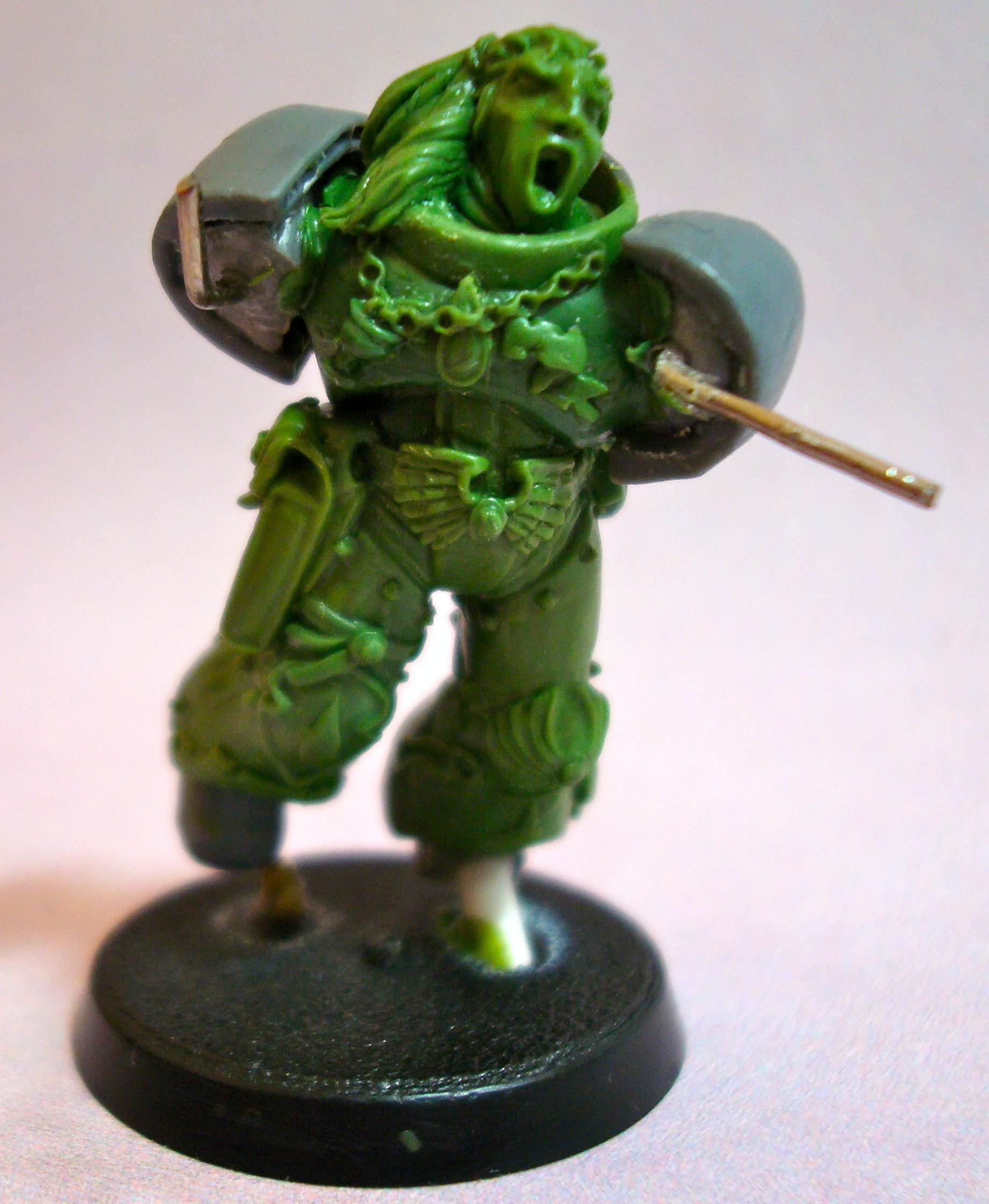 Blood Angels, Sculpt Green Stuff