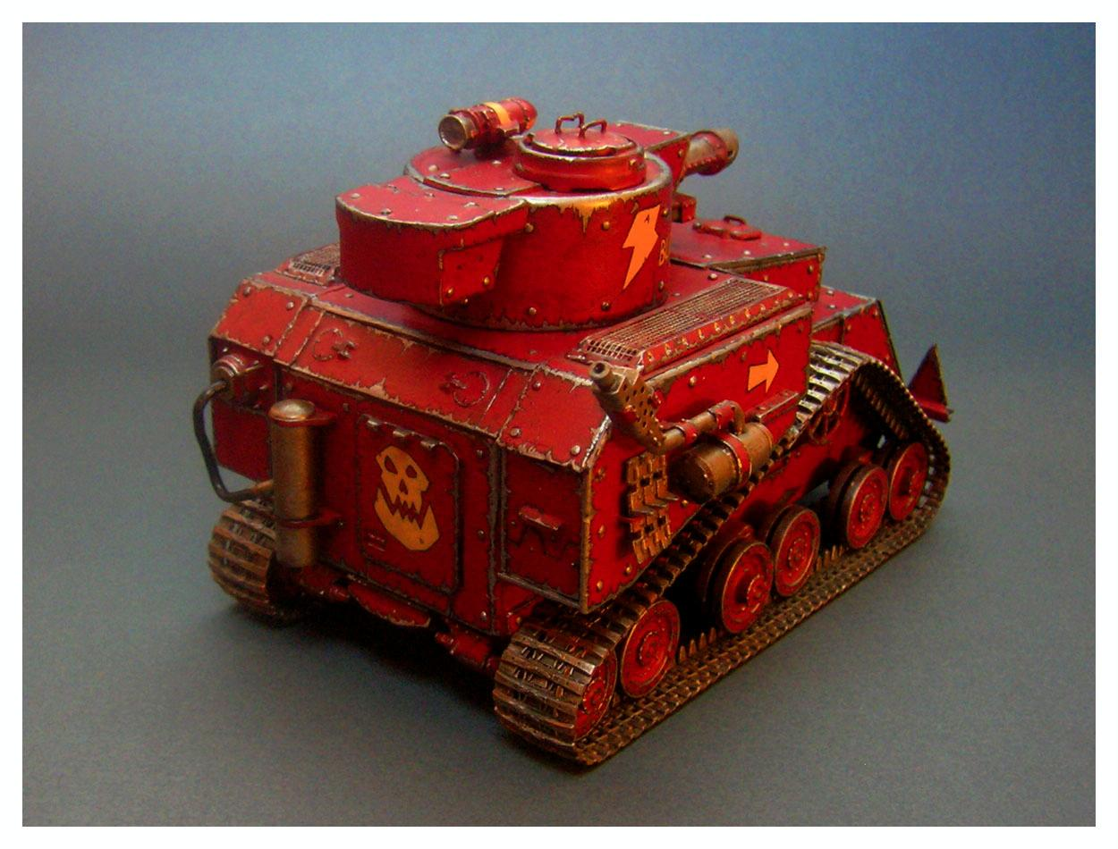 Battle, Build, Orks, Scratch, Scratch Build, Tank, Wagon