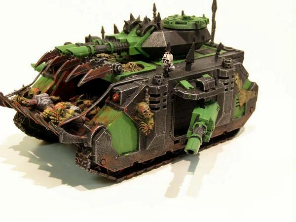 Chaos, Conversion, Front, Predator, Vile, Warhammer 40,000, Zombie