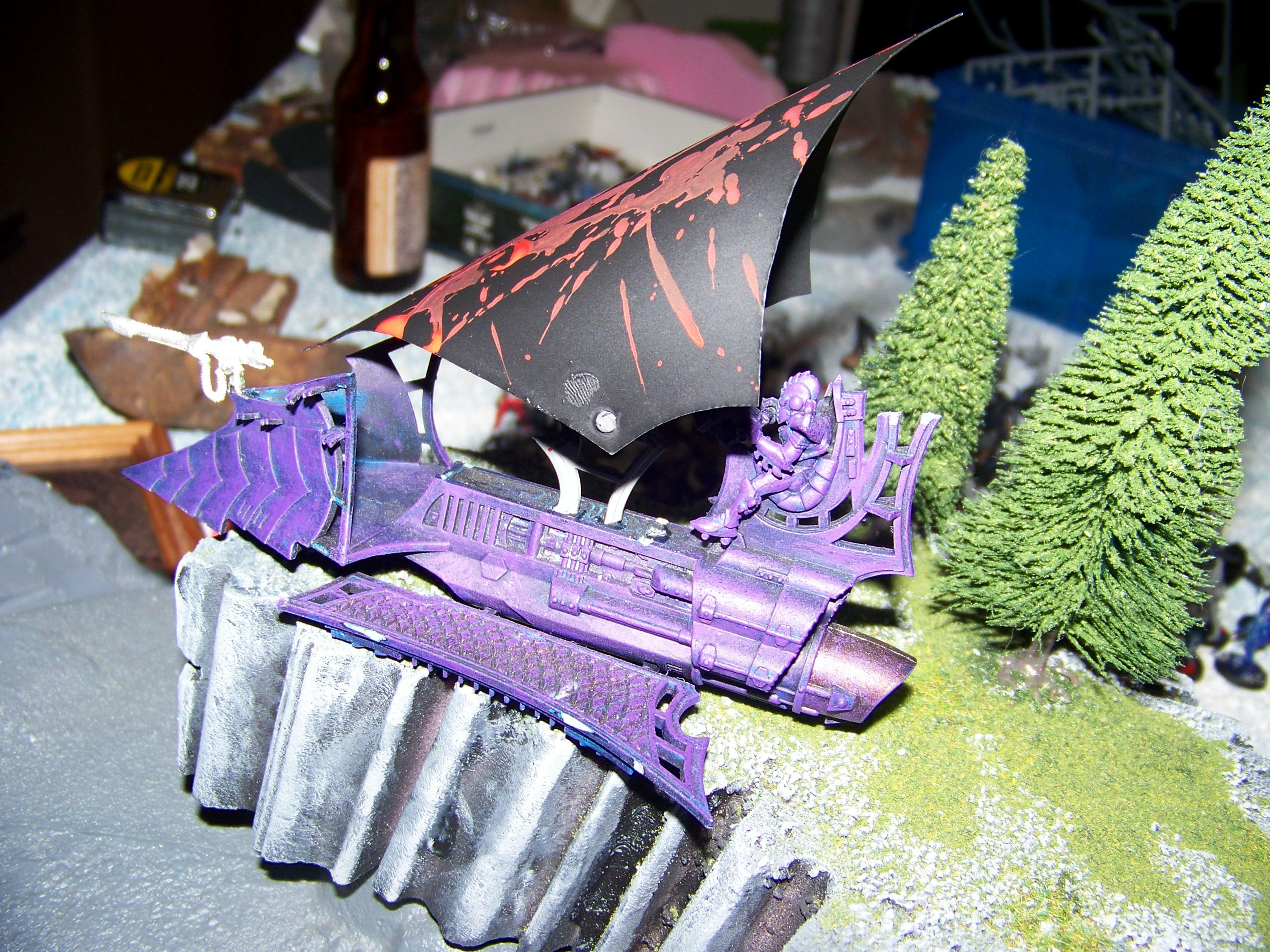 Dark Eldar, Sail Barge, Sails