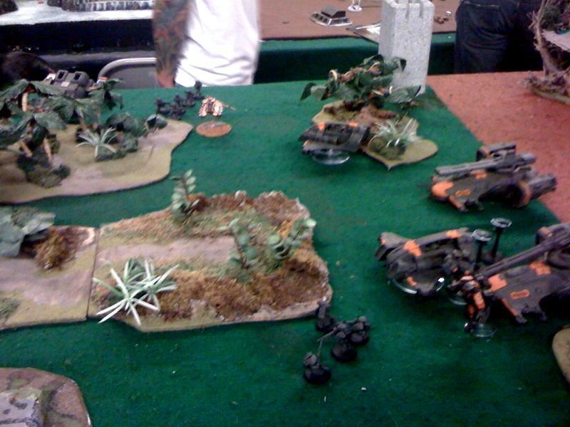 Battle Report, Necrons, Tau