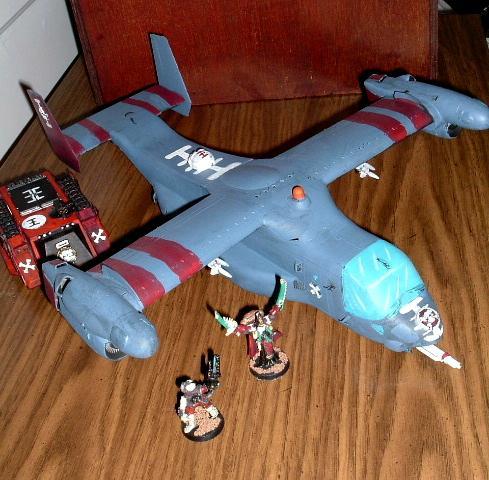 Gunship, Osprey, Shuttle, Storm Raven, V-22, Valkyrie