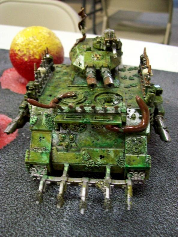 Chaos Space Marines, Nurgle, Predator