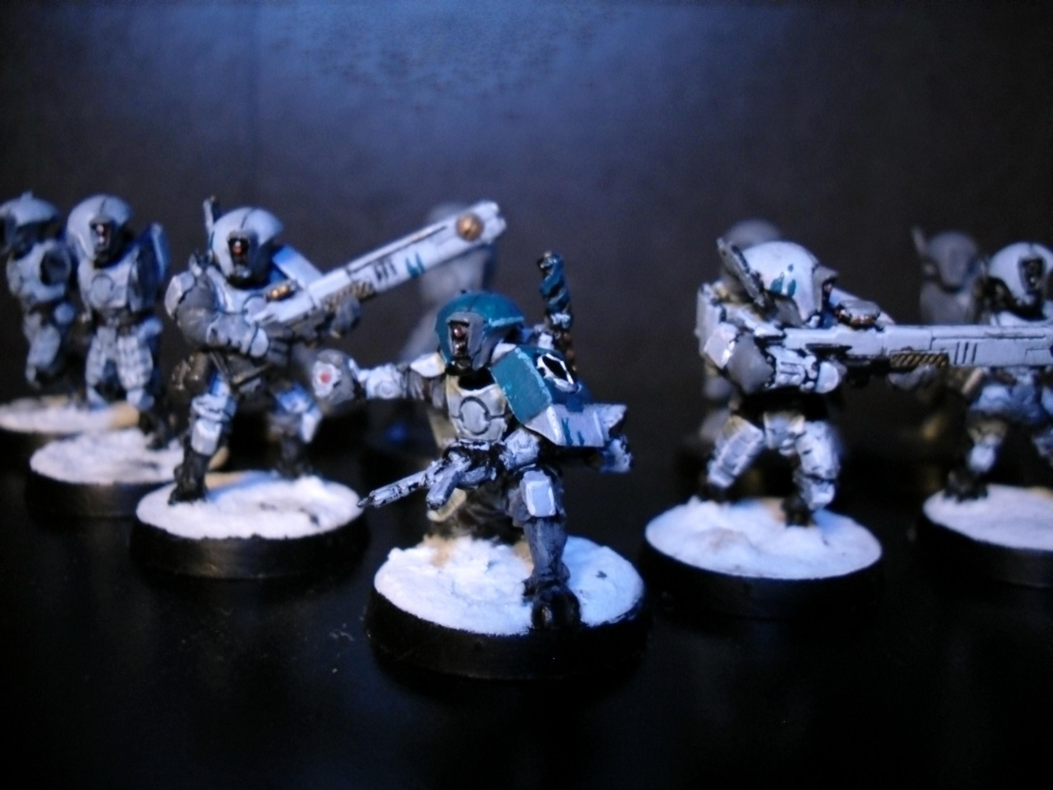 Tau, fire warrior team wip