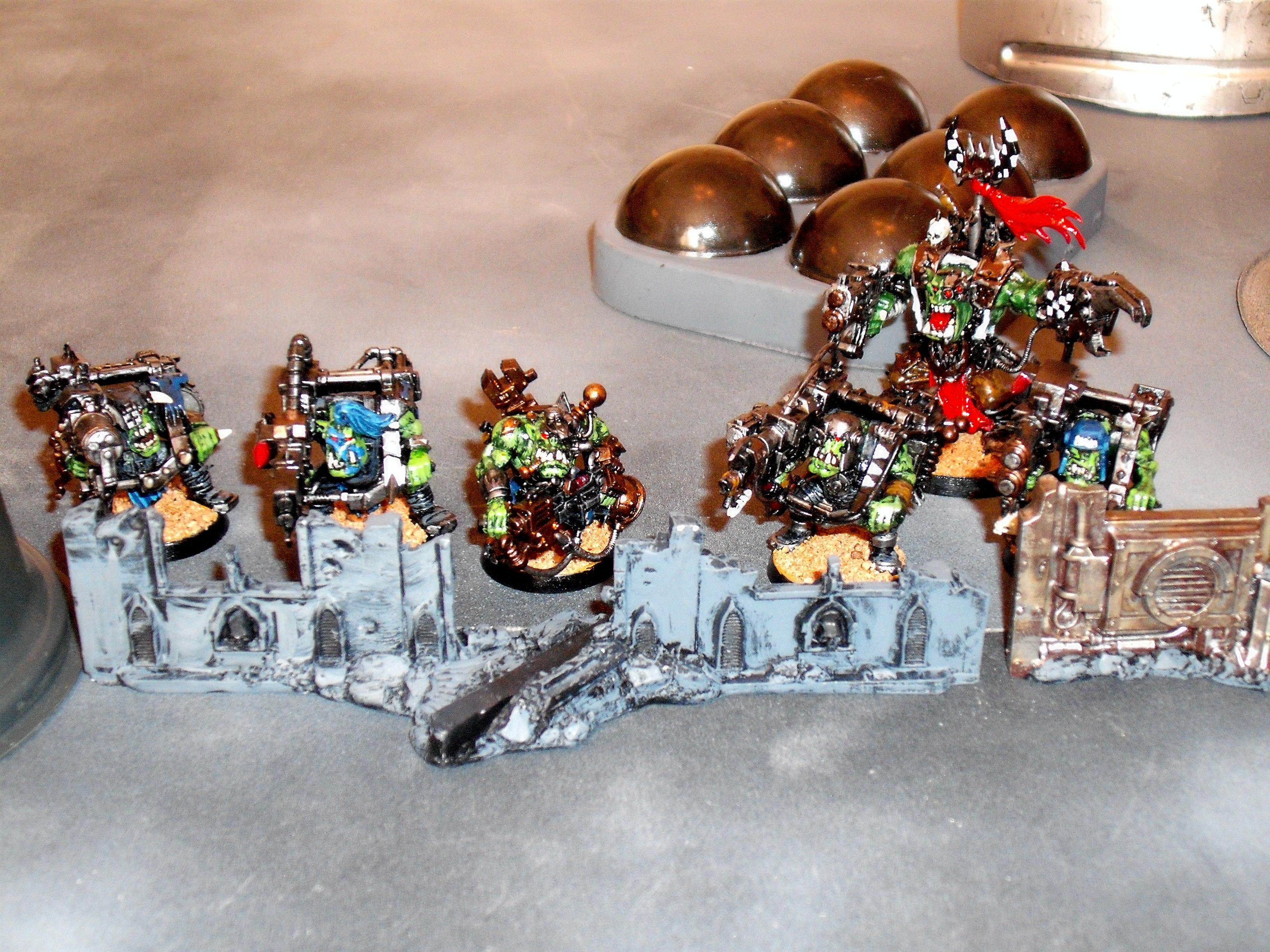 Ork Lootas, Warboss, Ork Lootas & Warboss