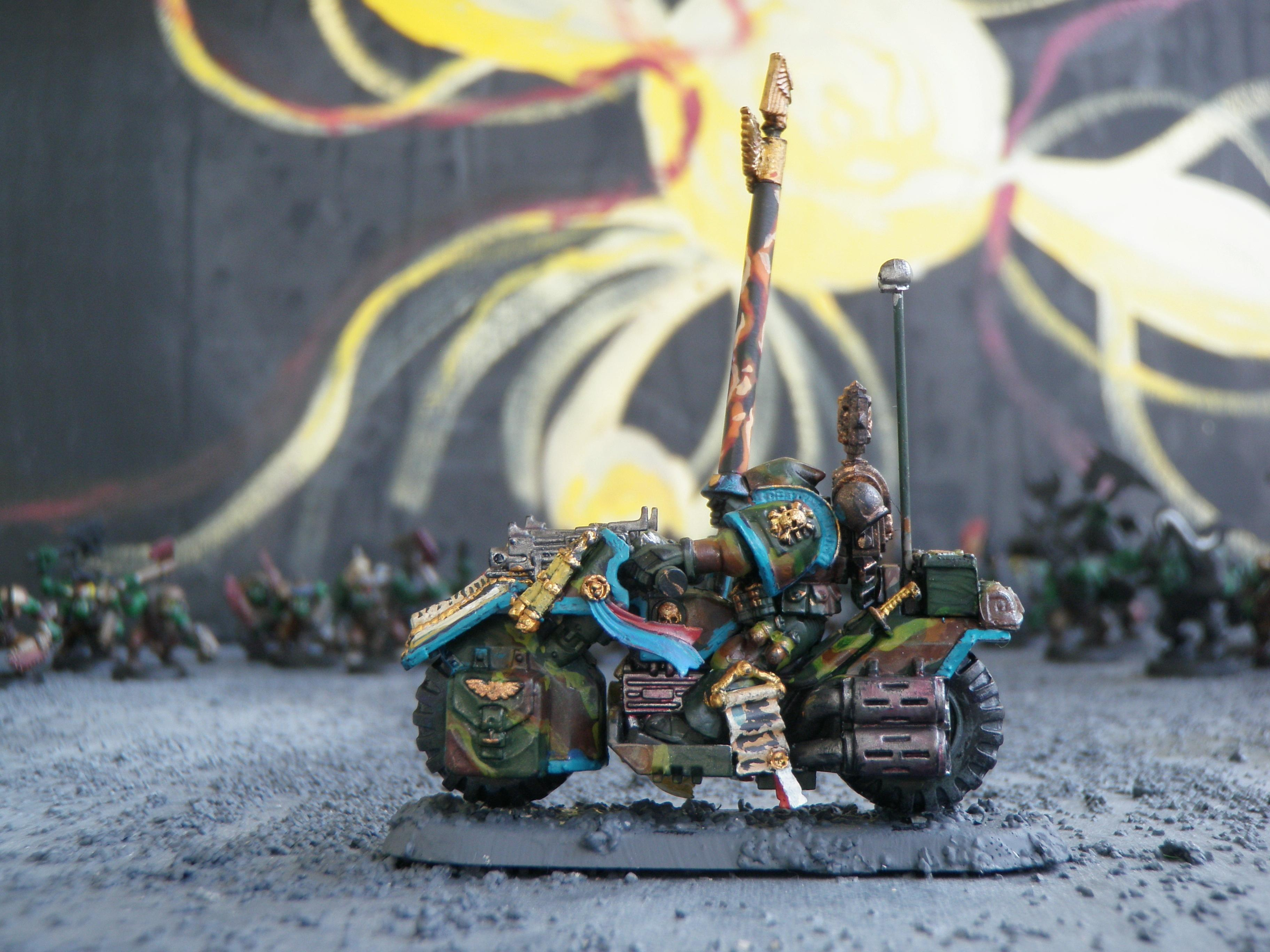 Bike, Camouflage, Force Weapon, Librarian, Space Marines