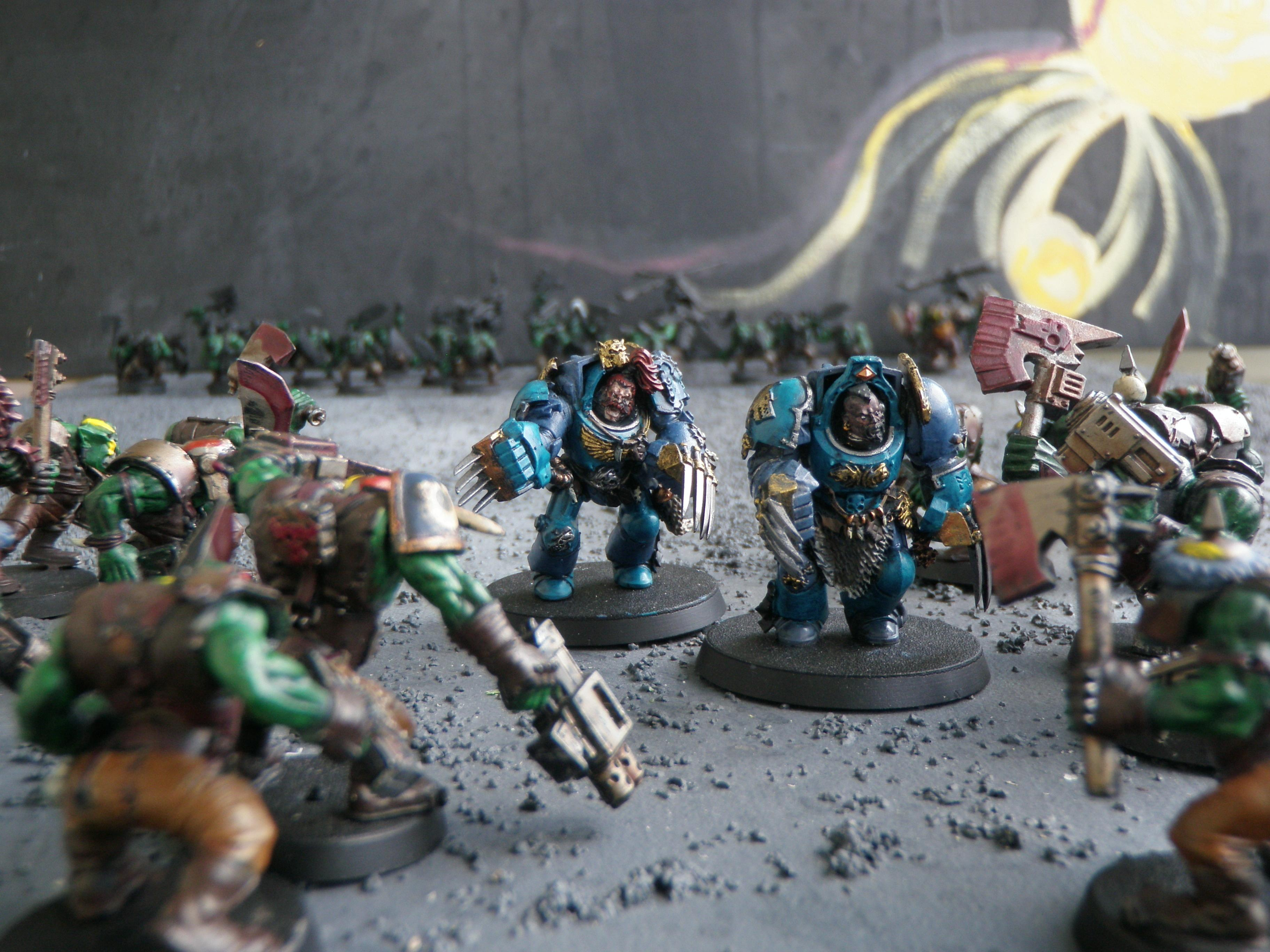 Space Wolves, Terminator Armor, Wolf Claws