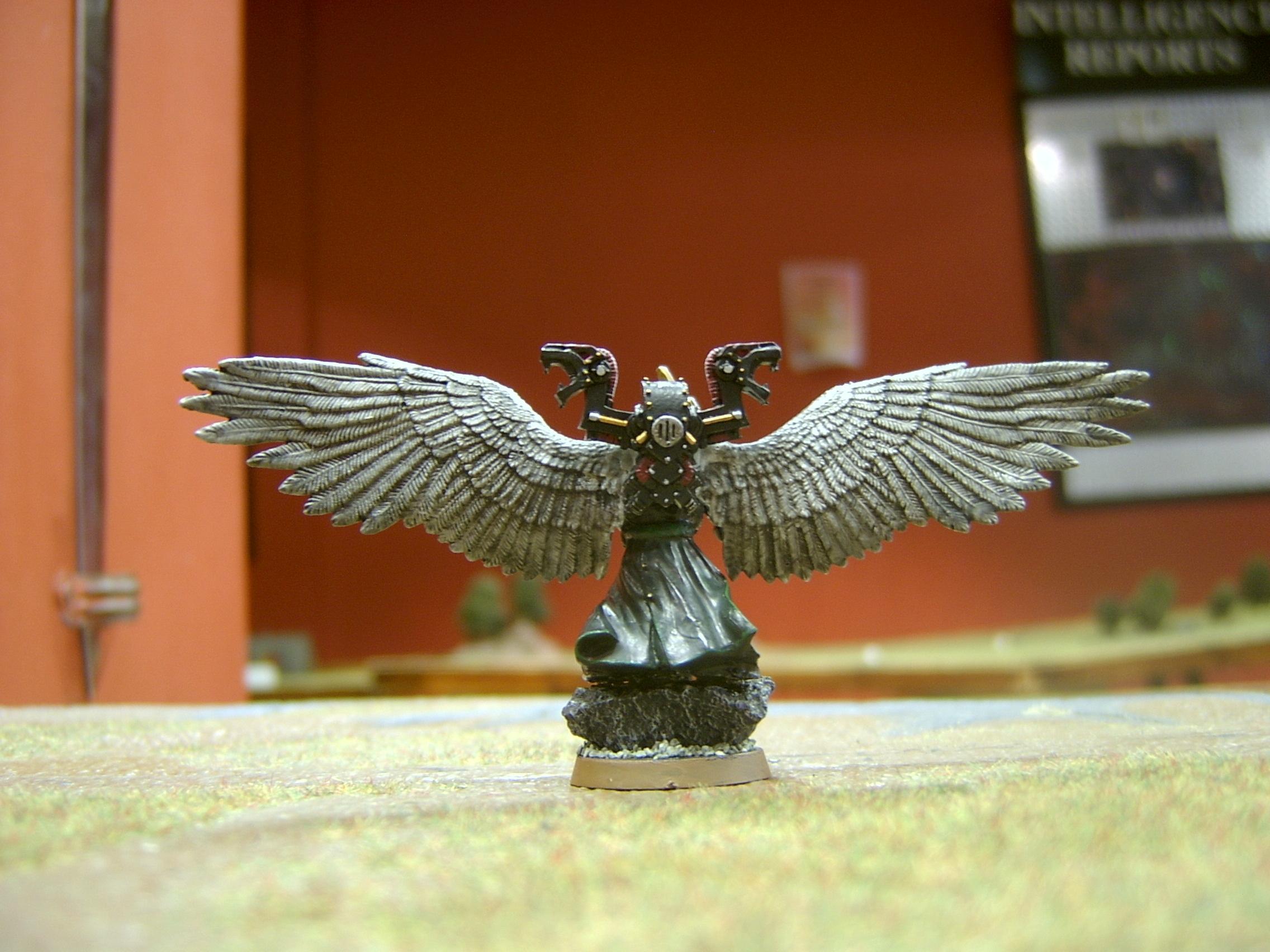 Chaos Space Marines, Dark Angels, Fallen Angel, Sorcerer, The Fallen, Warhammer 40,000
