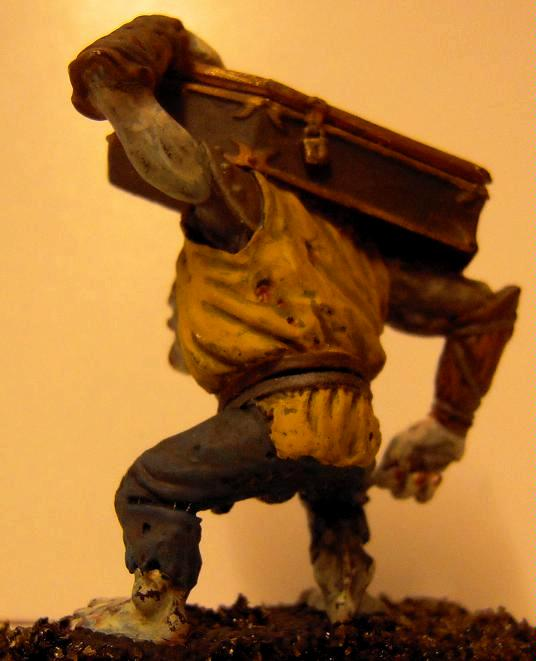 Ape, Axe, Axeman, Coffin, Conversion, Dead, Guhl, Lord Of The Rings, Magical, Repainted, Troll, Undertaker, Warhammer Fantasy