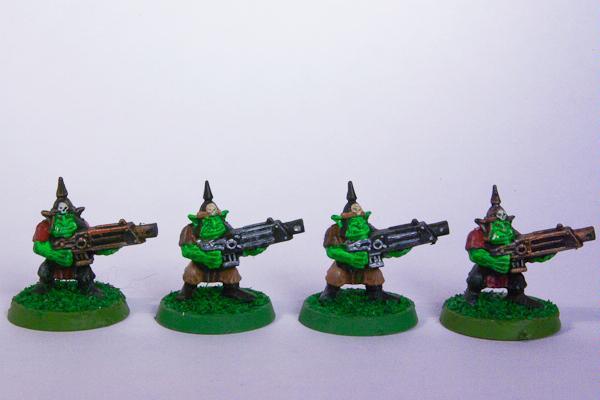 Goff, Gretchin, Orks