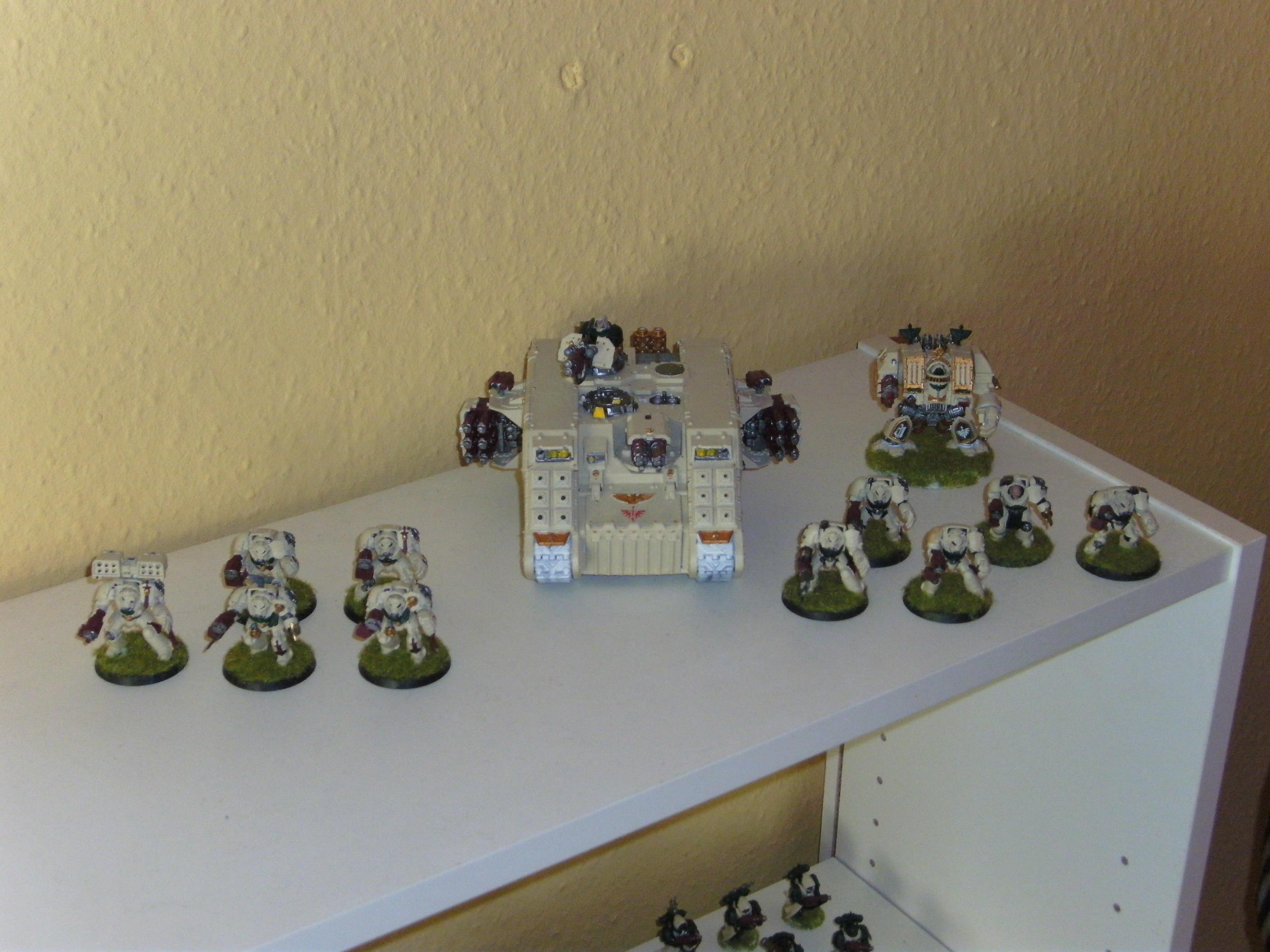 Dark Angels, Deathwing, Dreadnought, Land Raider, Terminator Armor