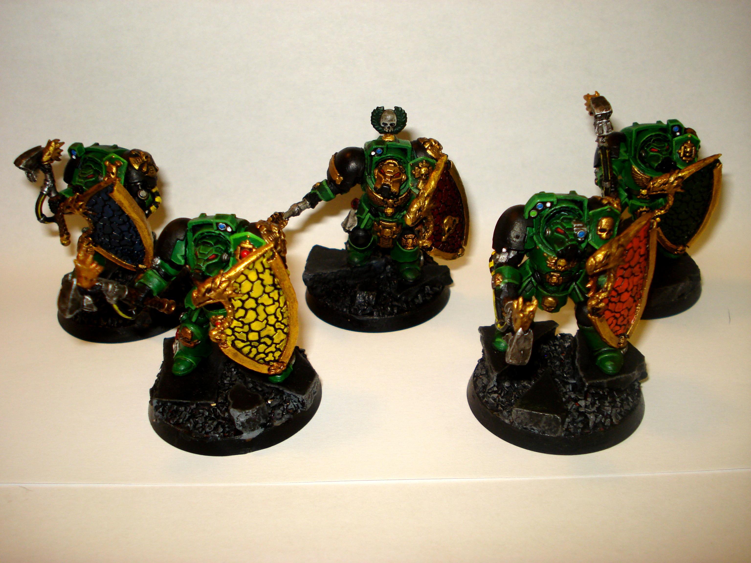Salamander, Storm Shield, Terminator Armor