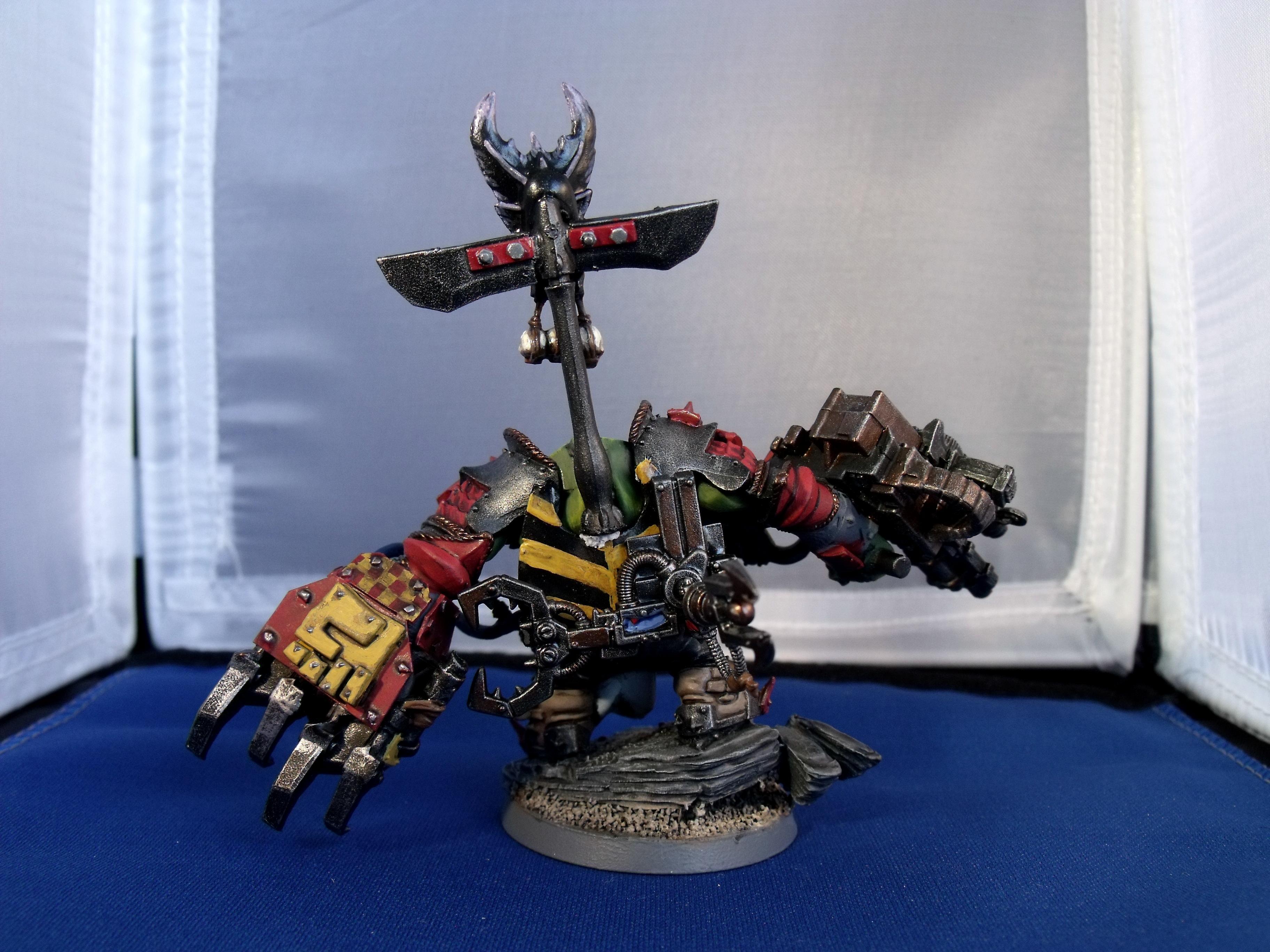 Orks, Warboss, Warboss Chompgobb's Back