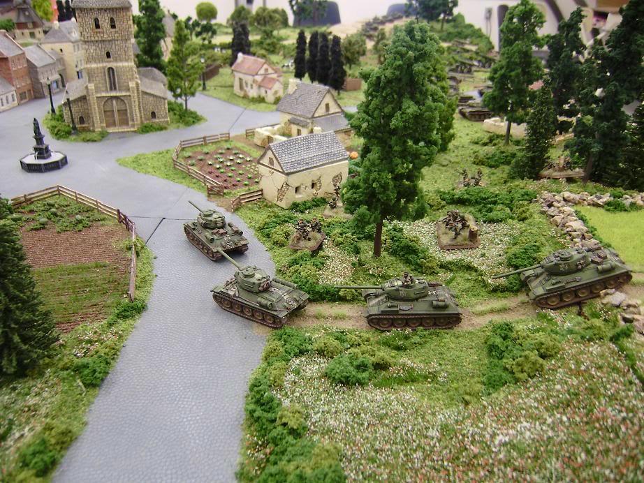 15mm, Flames Of War, Game Table, Russians, Soviets, Terrain, World War 2