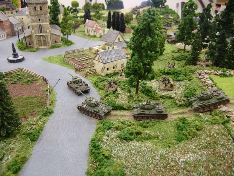 15mm, Flames Of War, Game Table, Russians, Soviets, Terrain, World War 2