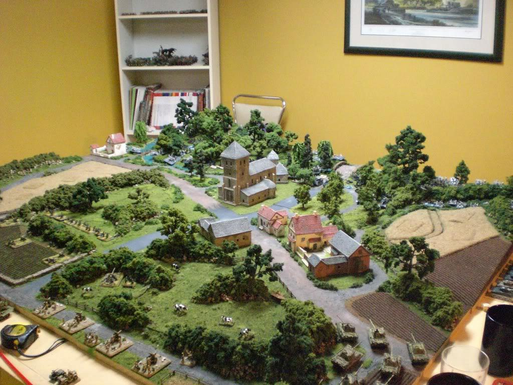 15mm, Europe, Flames Of War, Terrain, World War 2