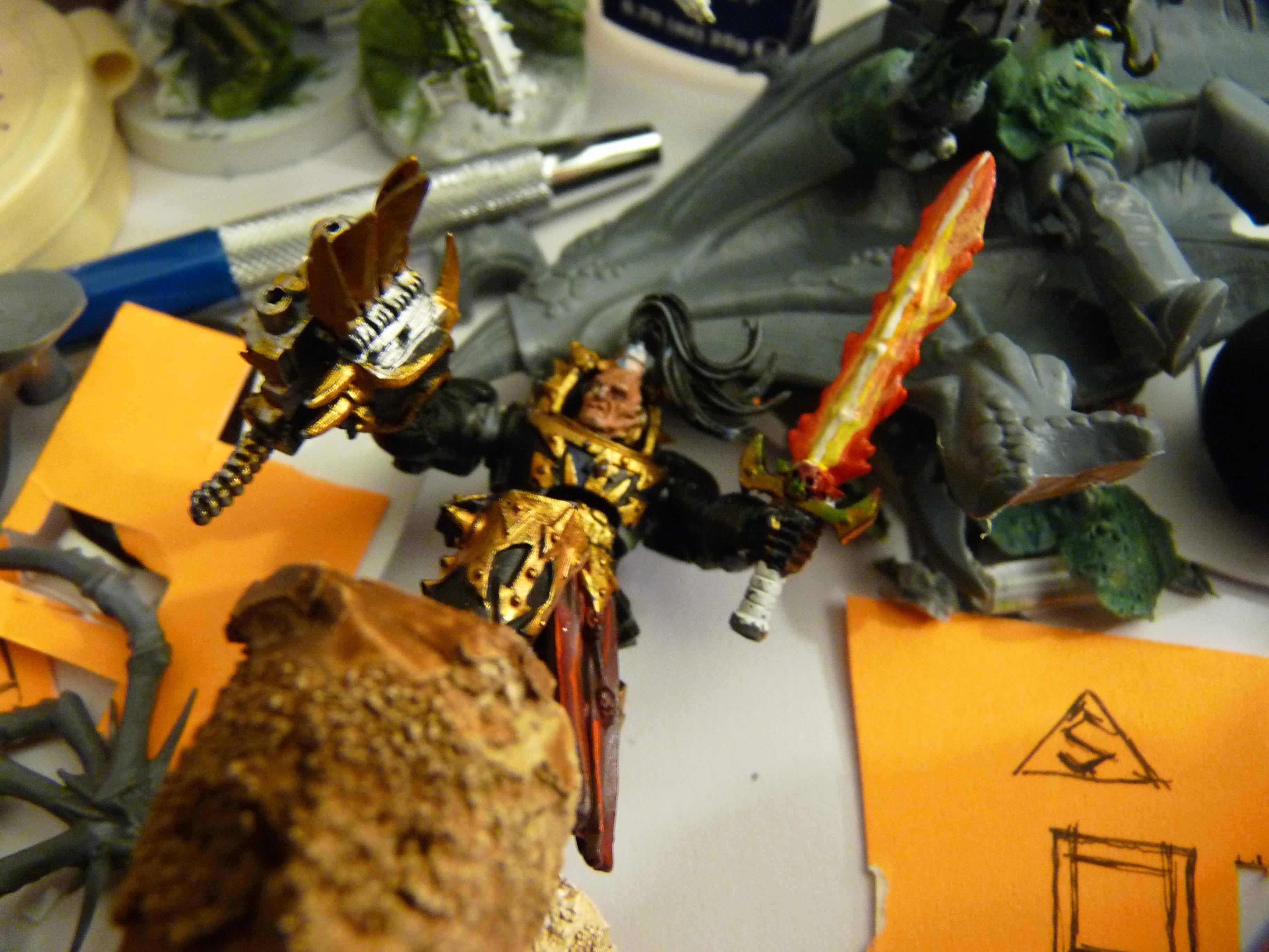 Abbadon, Chaos, Chaos Space Marines, Conversion