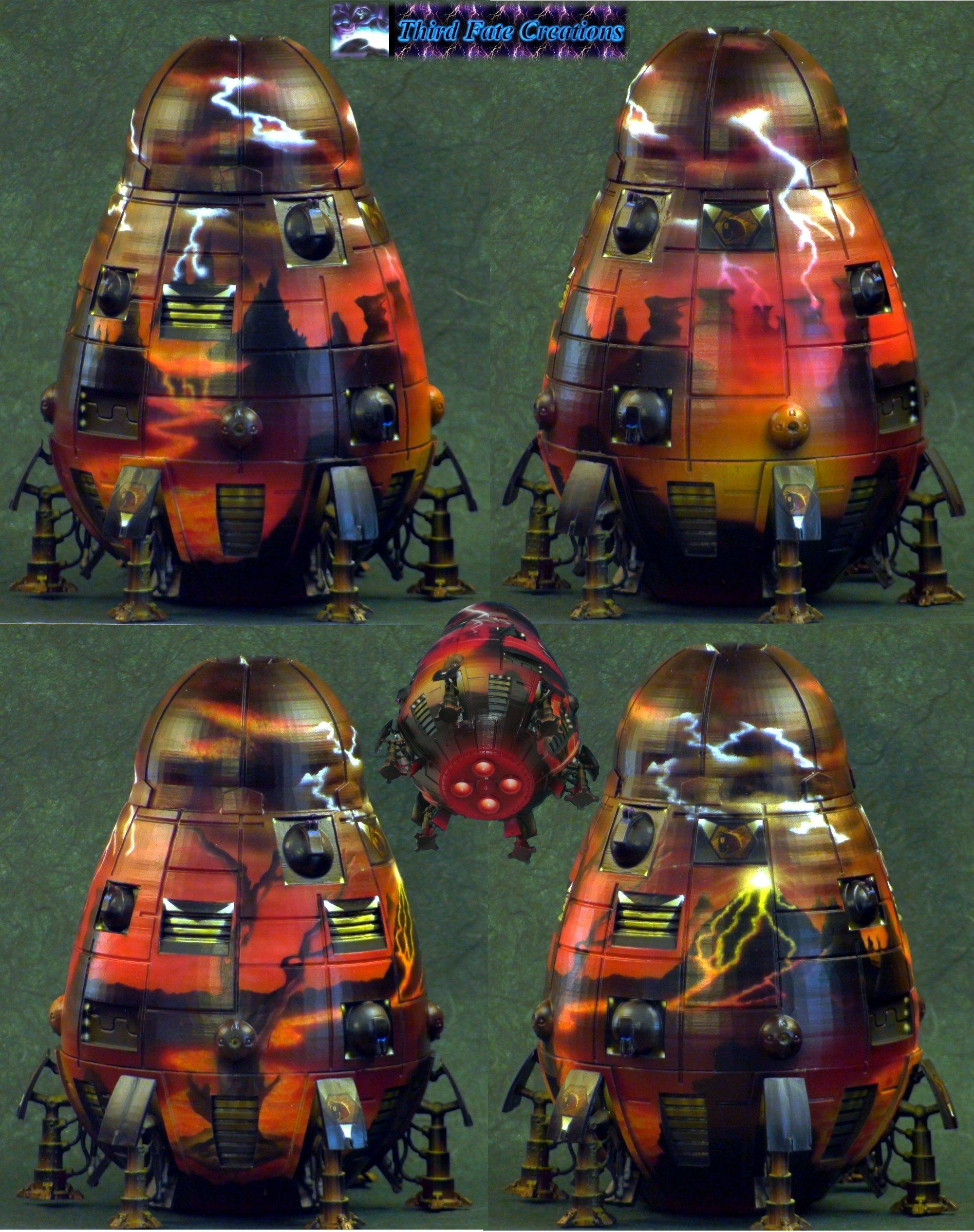 Airbrushed, Battletech, Clan, Dropship, Hells Horses, Map, Overlord, Scale