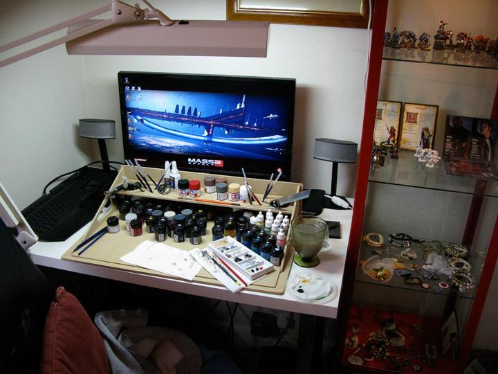 Desk, Hobby Area, my desk