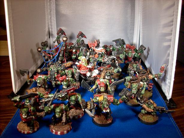 Big Mek, Nob, Ork Boyz, Orks, Warboss