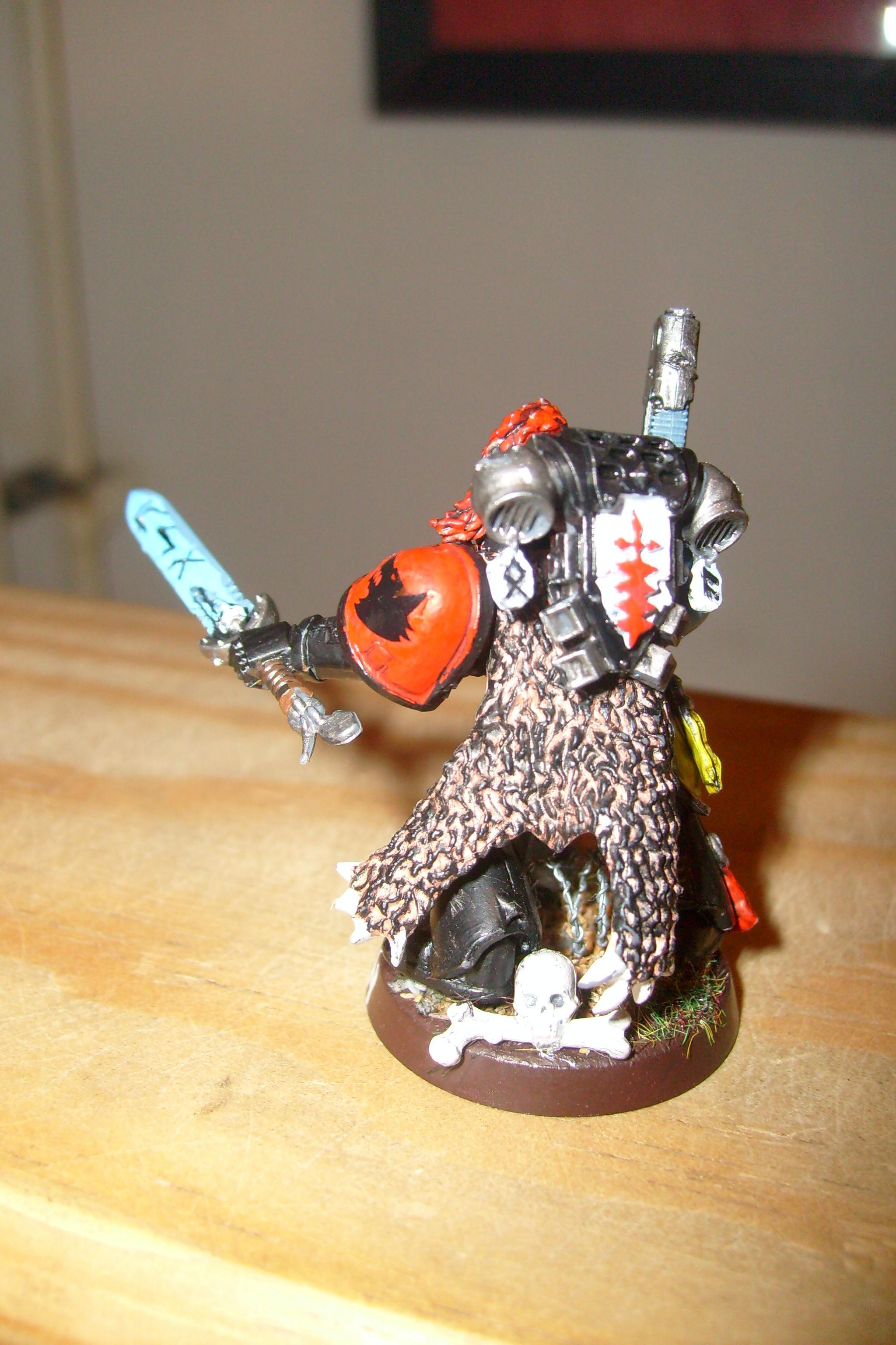 Plasma Pistol, Power Sword, Space Wolves