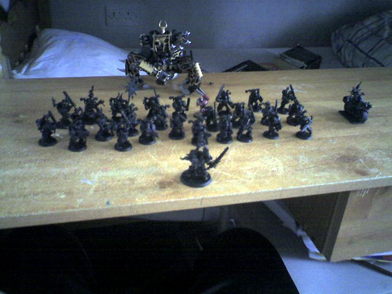 Chaos, Old Army, Start Up Army