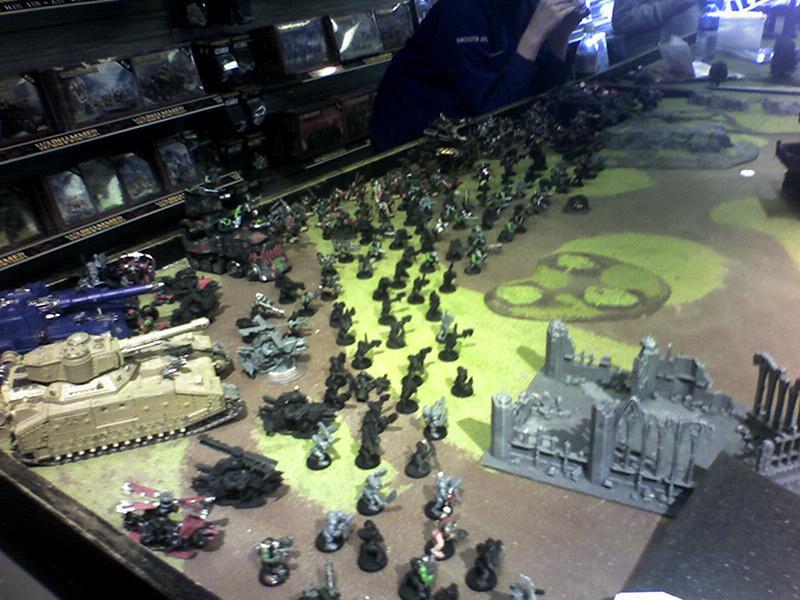 Apocalypse, Baneblade, Chaos, Orks, Shadowsword