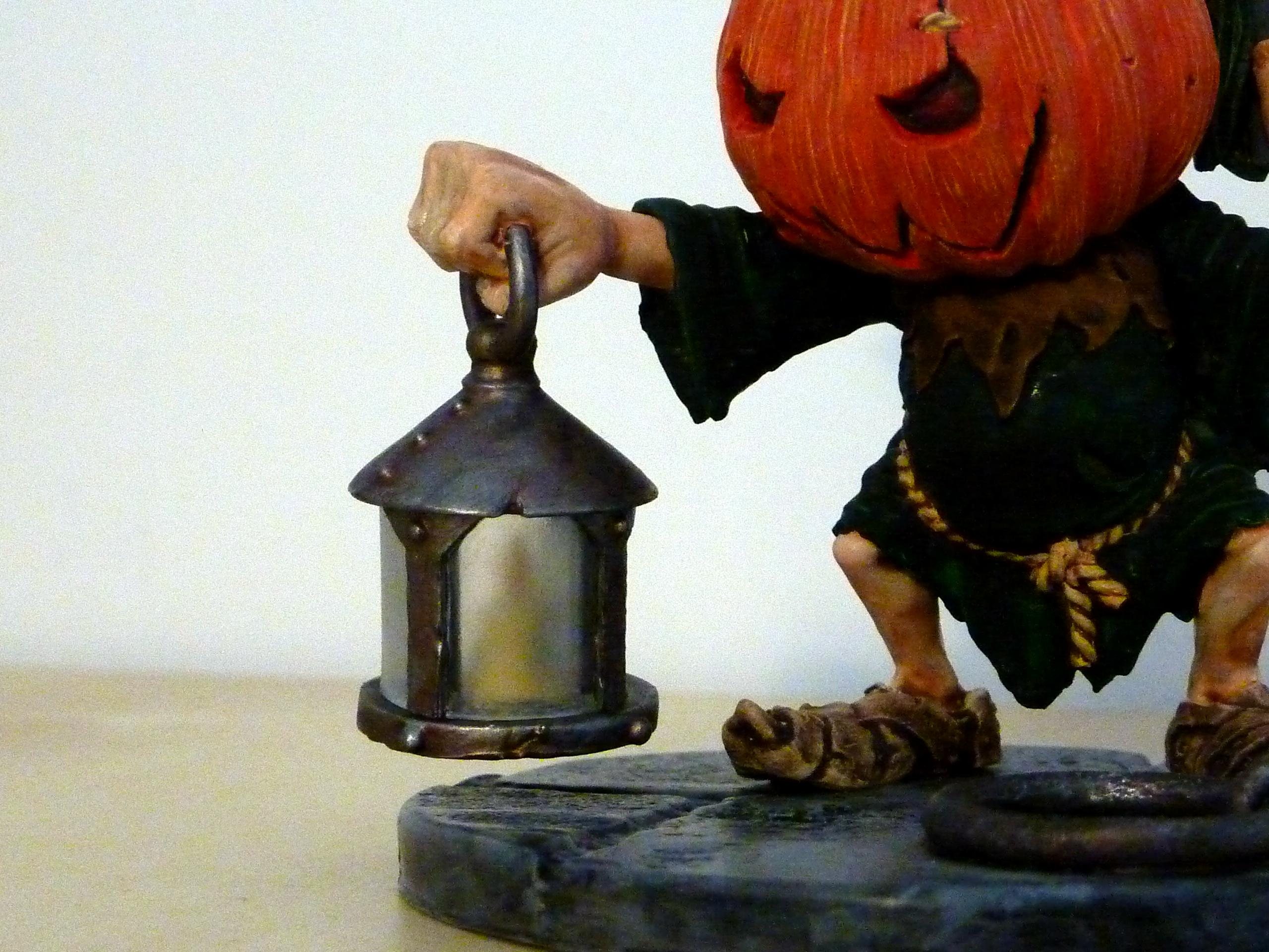 Large Scale, Pumpkin Head, Rackham