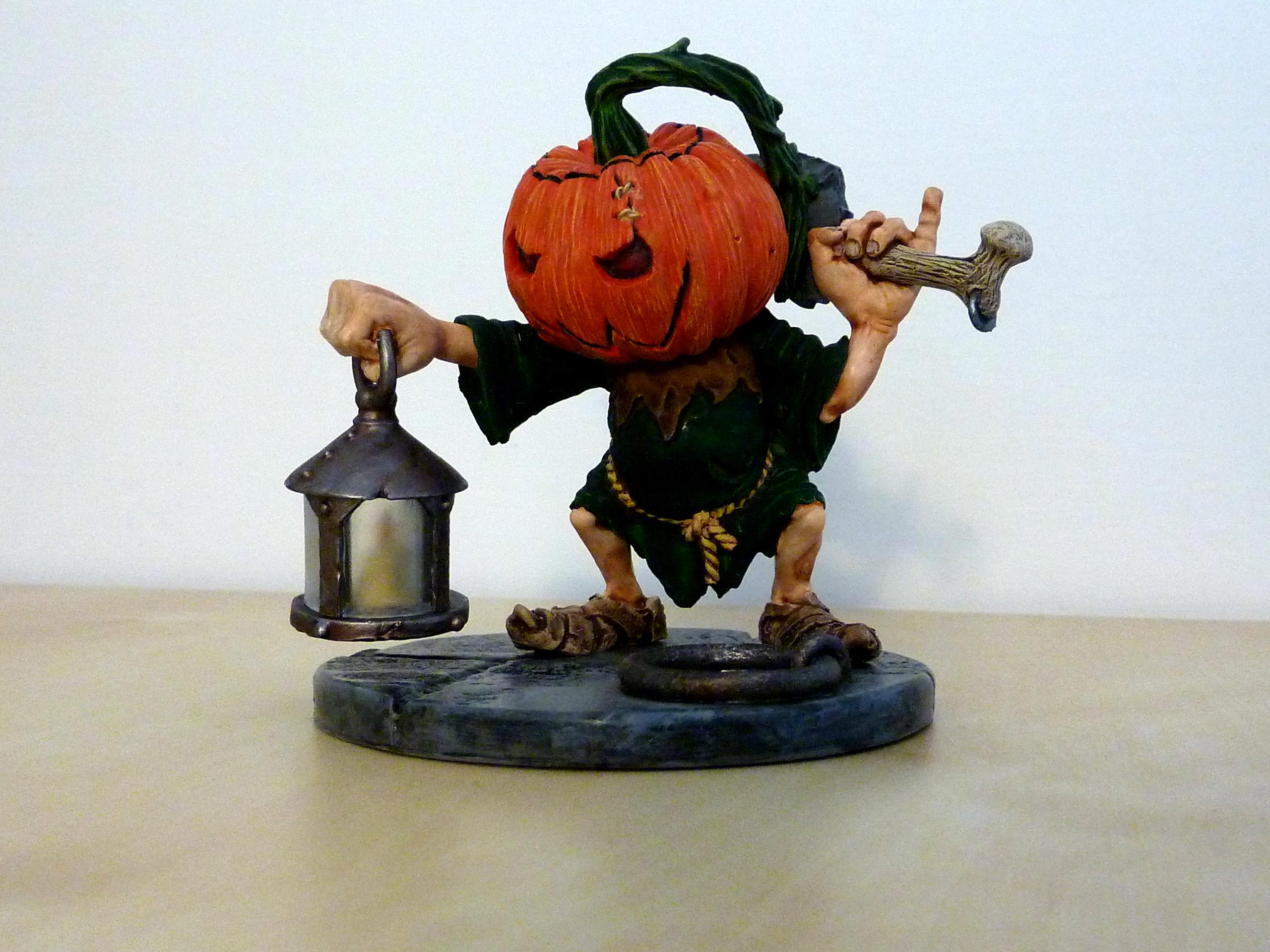 Large Scale, Pumpkin Head, Rackham