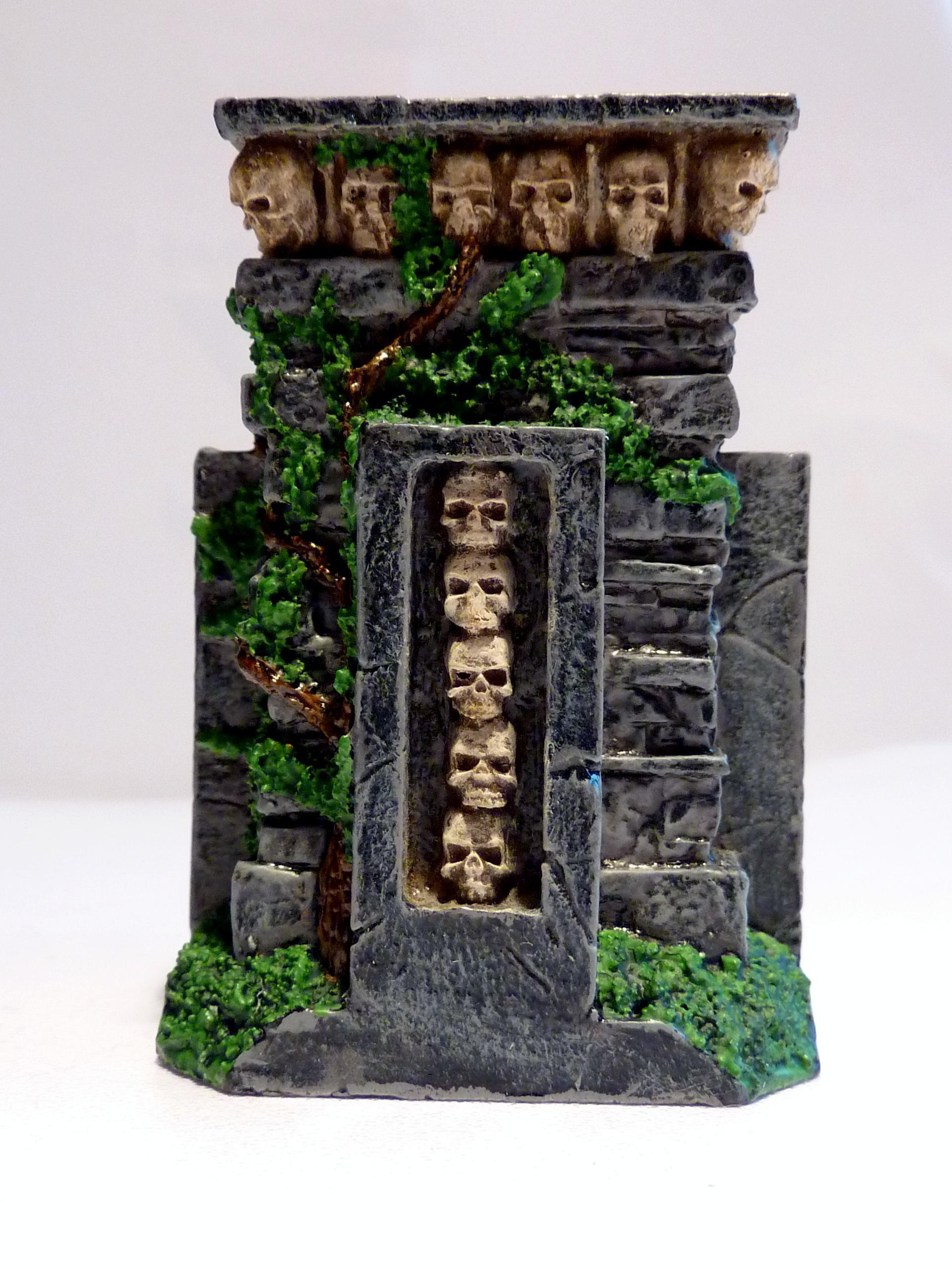 Fowrge World, Plinth Of Skulls, Terrain