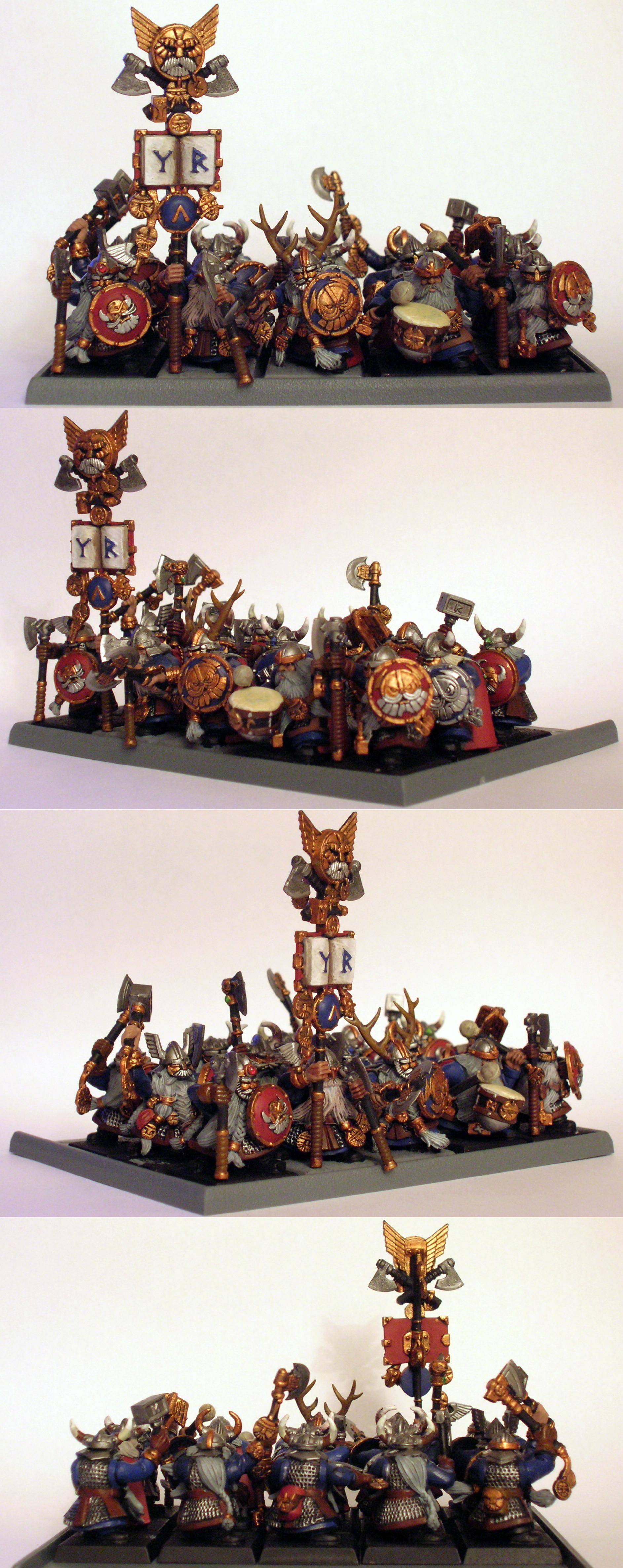 Dwarves, Longbeards, Warhammer Fantasy