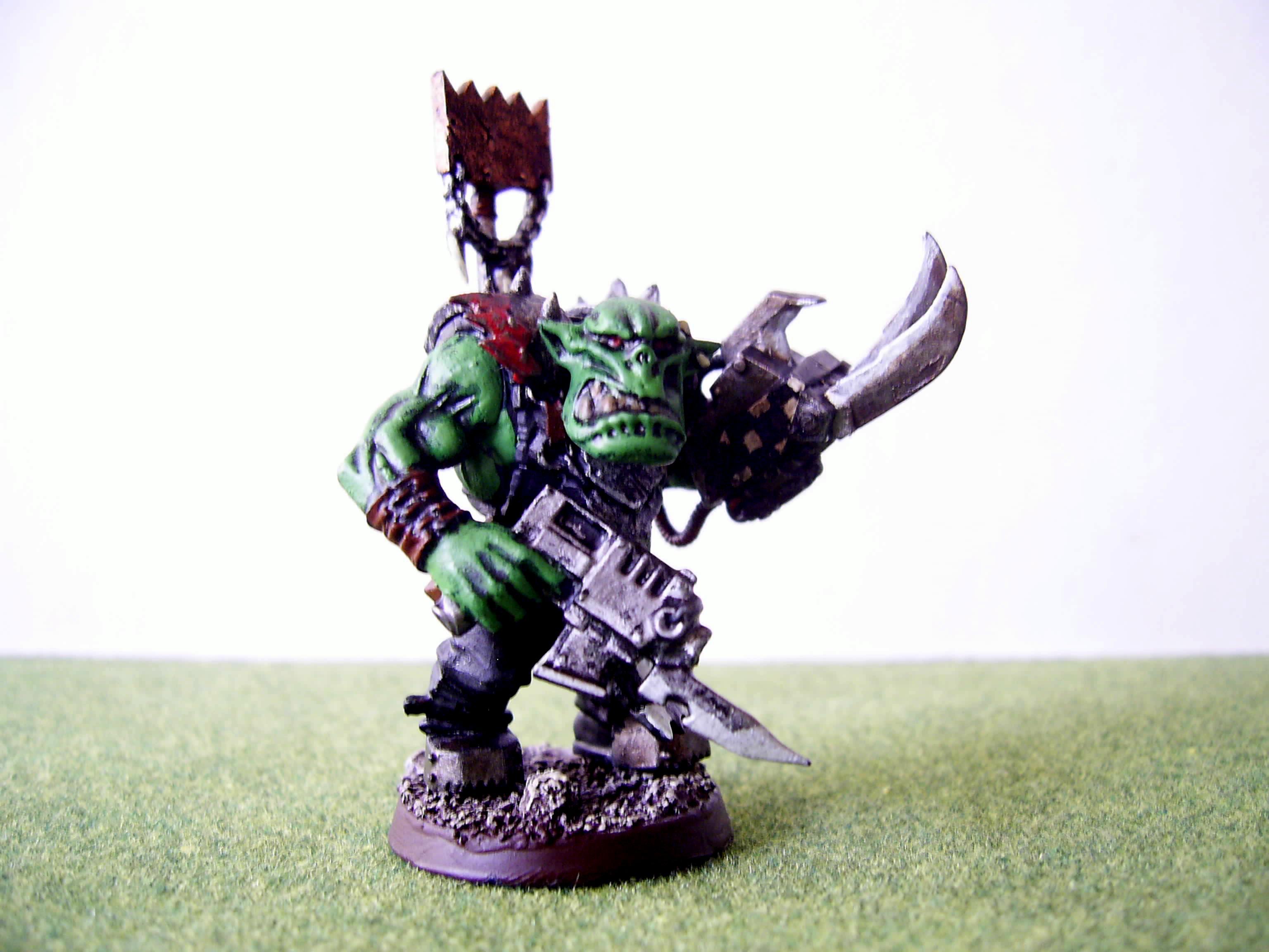 Nob, Orks, Power Claw