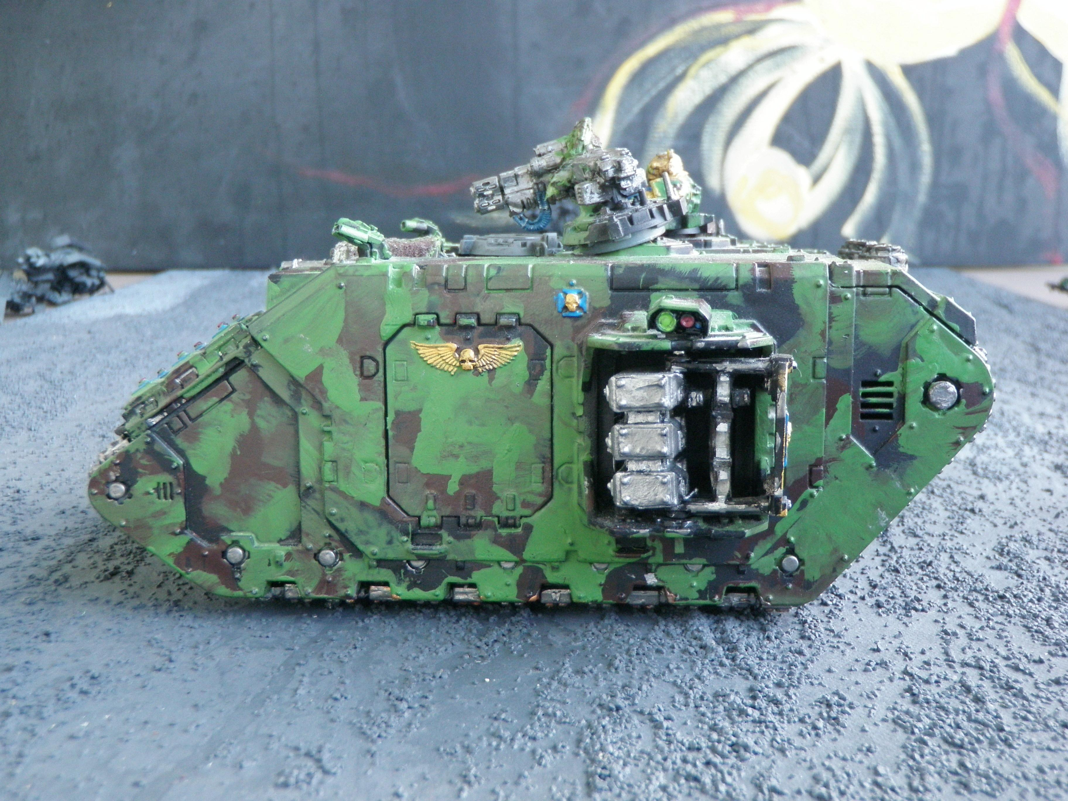 Another View of a Broken Land Raider