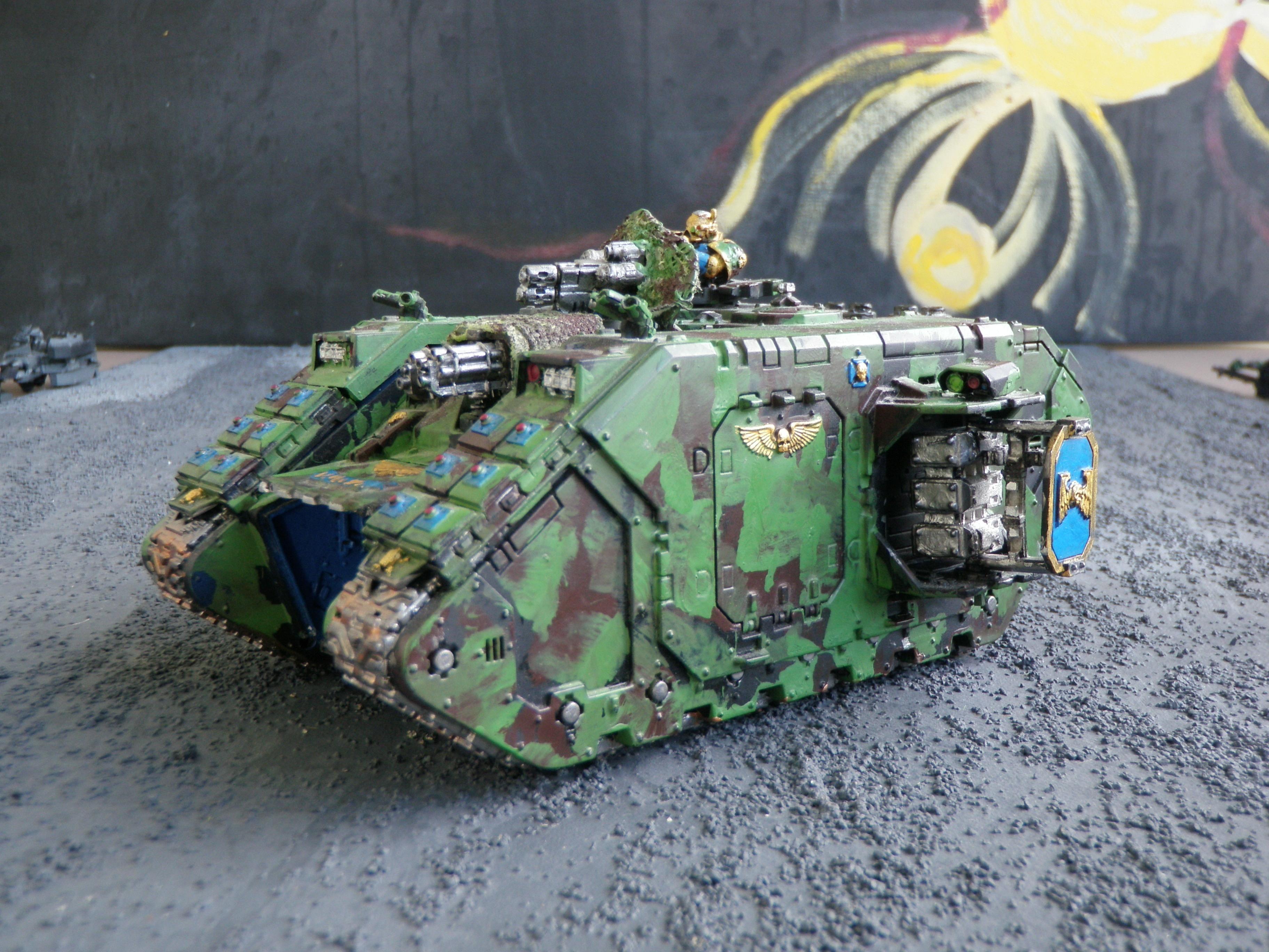 Land Raider to be Rebuilt
