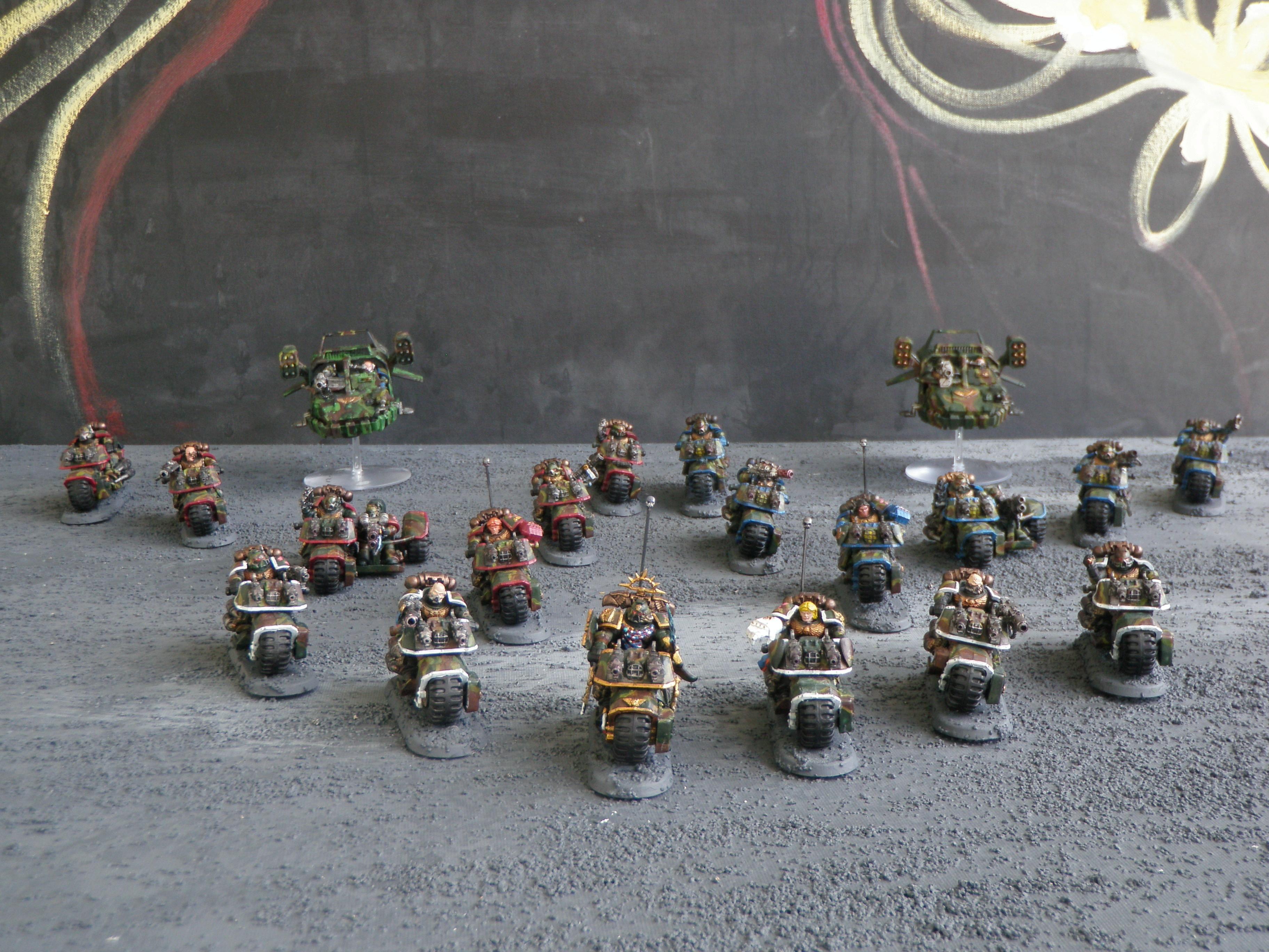 Bike, Space Marines, 1000 Point Bike Army