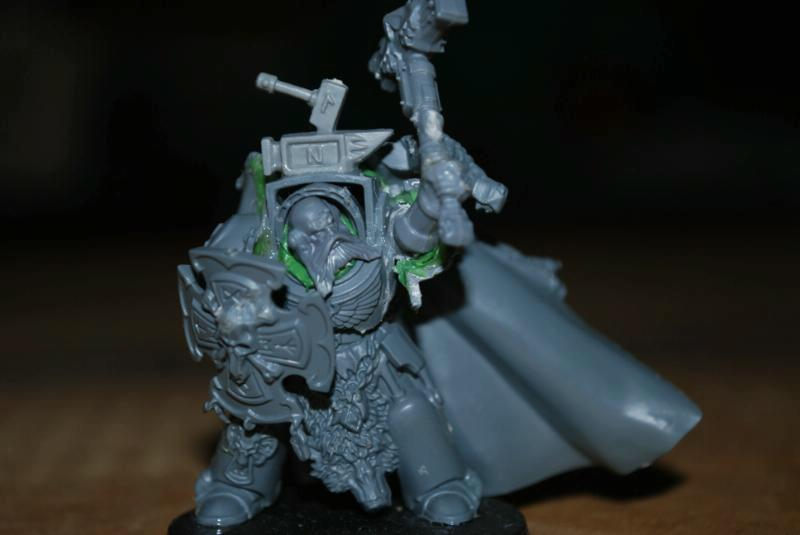 Conversion, Impereial, Imperial, Space Marines, Space Wolves, Spasce Marines, Terminator Armor, Warhammer 40,000
