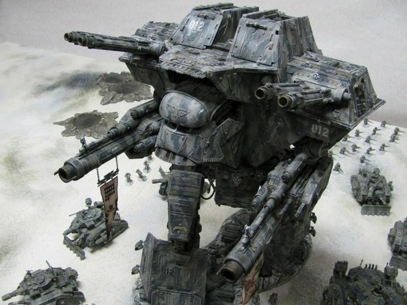 Titan, Warhammer 40,000, Warlord