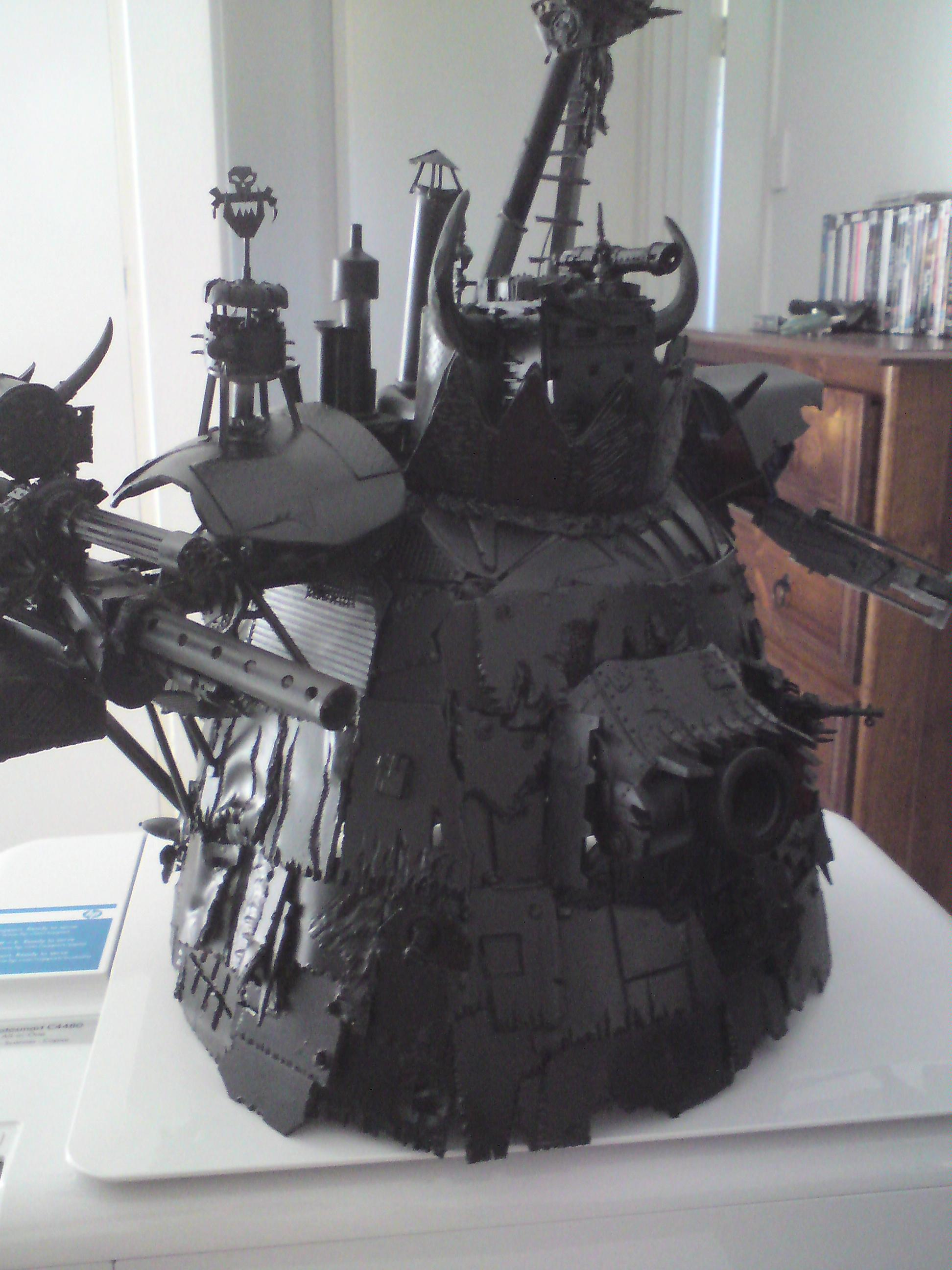 Gargant, Orks, Scratch Build, Stompa, Work In Progress