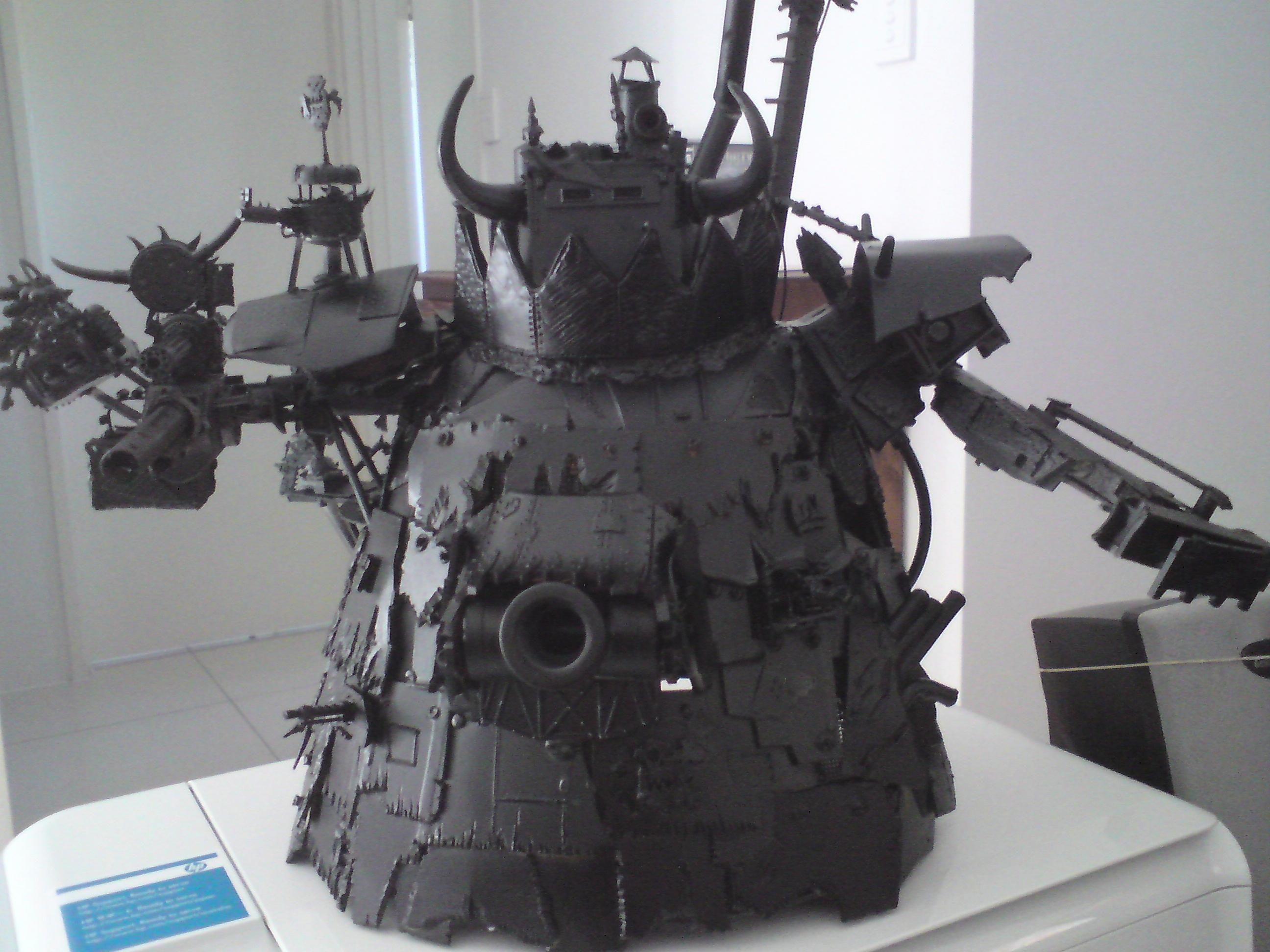 Gargant, Orks, Scratch Build, Stompa, Work In Progress