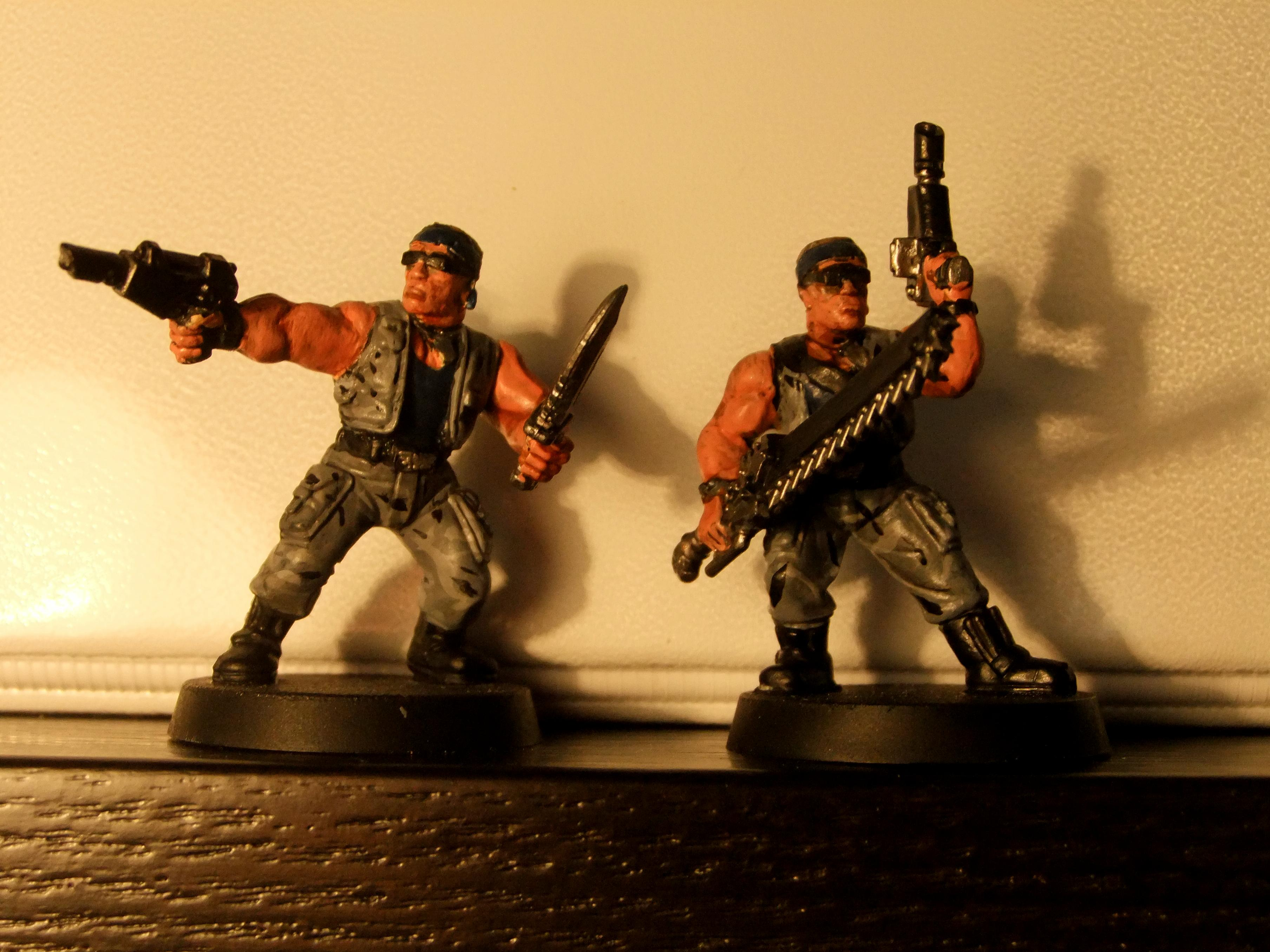 Imperial Guard, Catachan Guardsmen