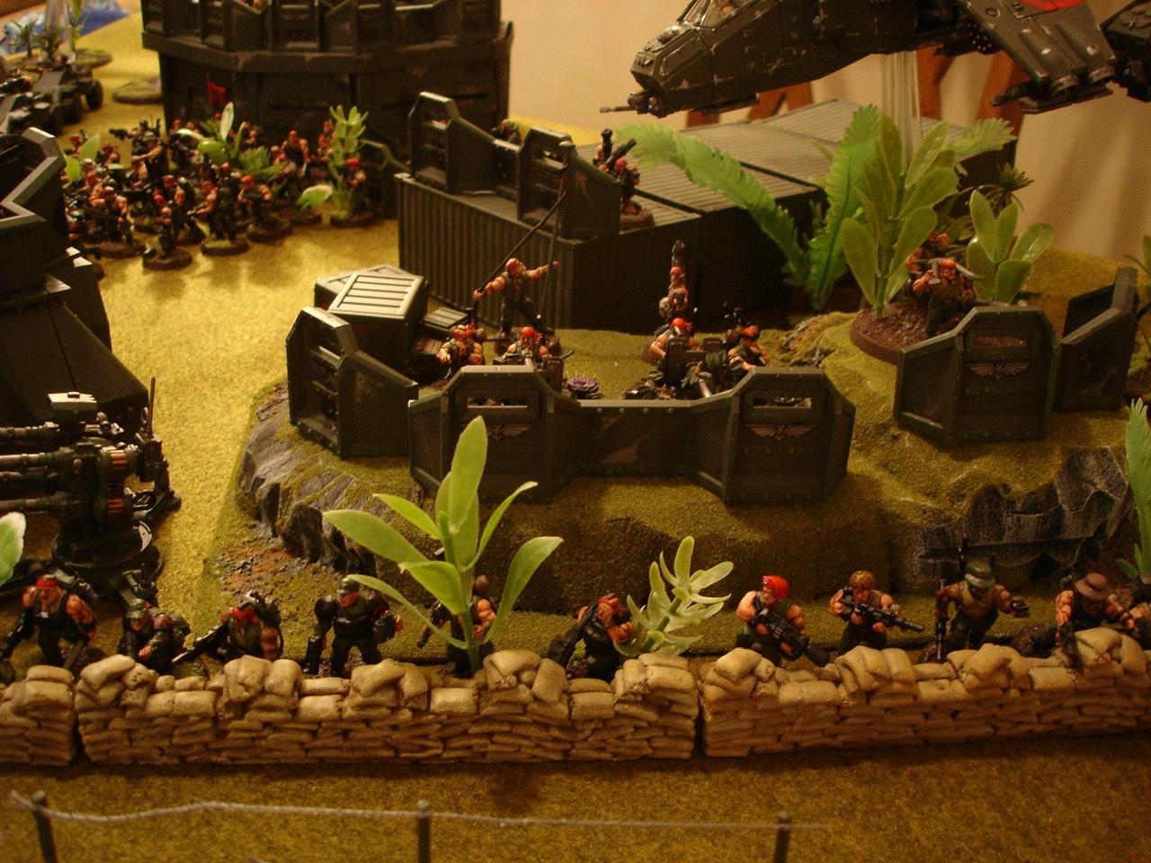 Catachan, Imperial Guard, Warhammer 40,000, Warhammer Fantasy