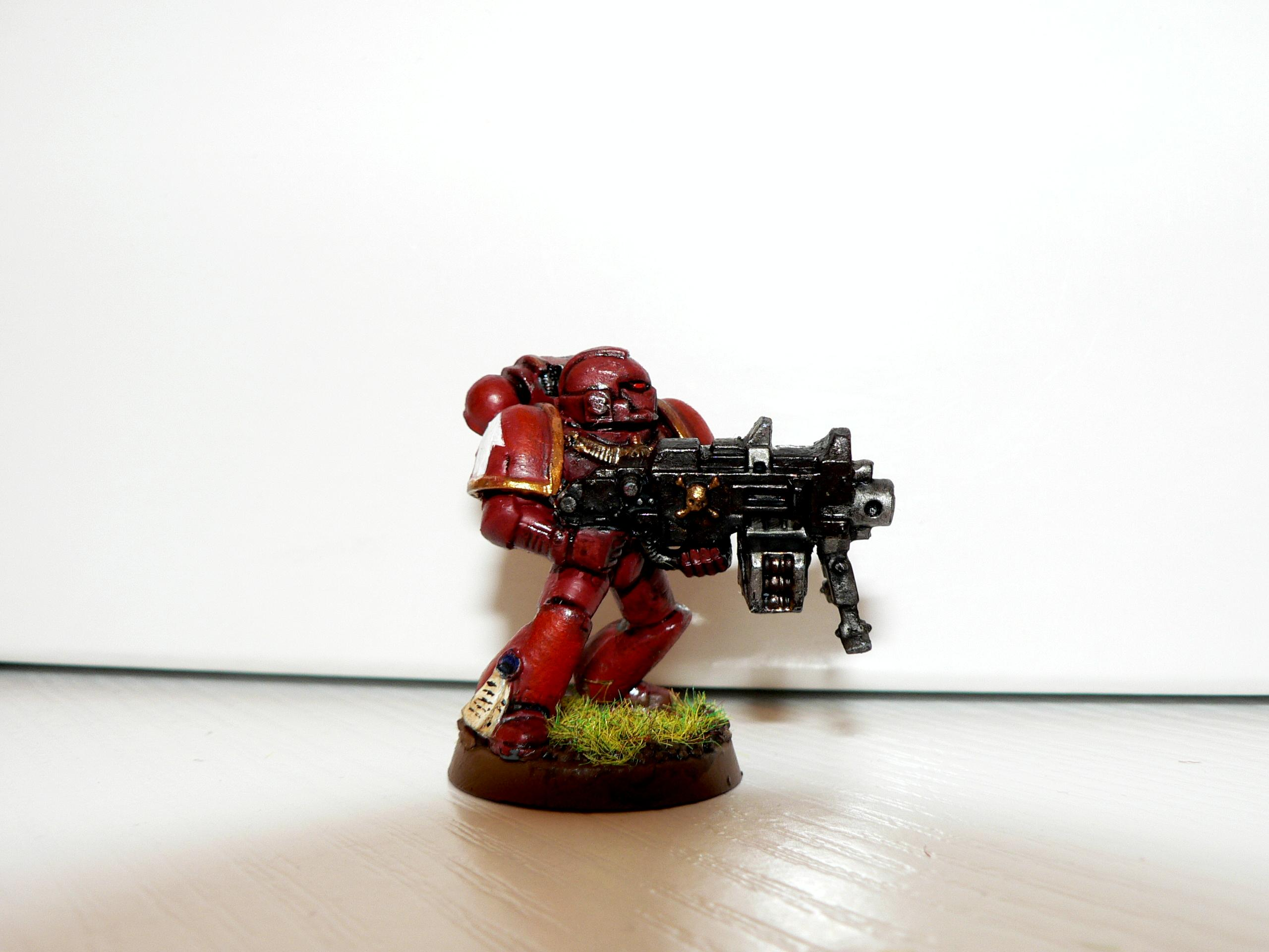 Conversion, Genesis Chapter, Heavy Bolter, Space Marines