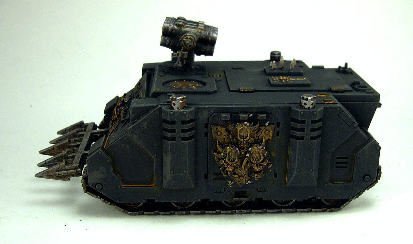 Chaos Space Marines, Rhino, Warhammer 40,000