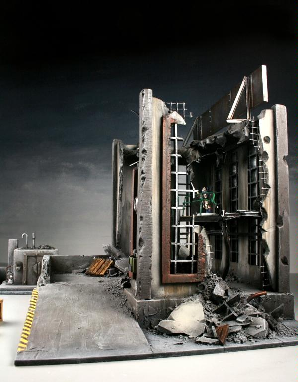 3t, Buildings, Cities Of Death, Factory, Industrial, Ruins, Scratch, Terrain