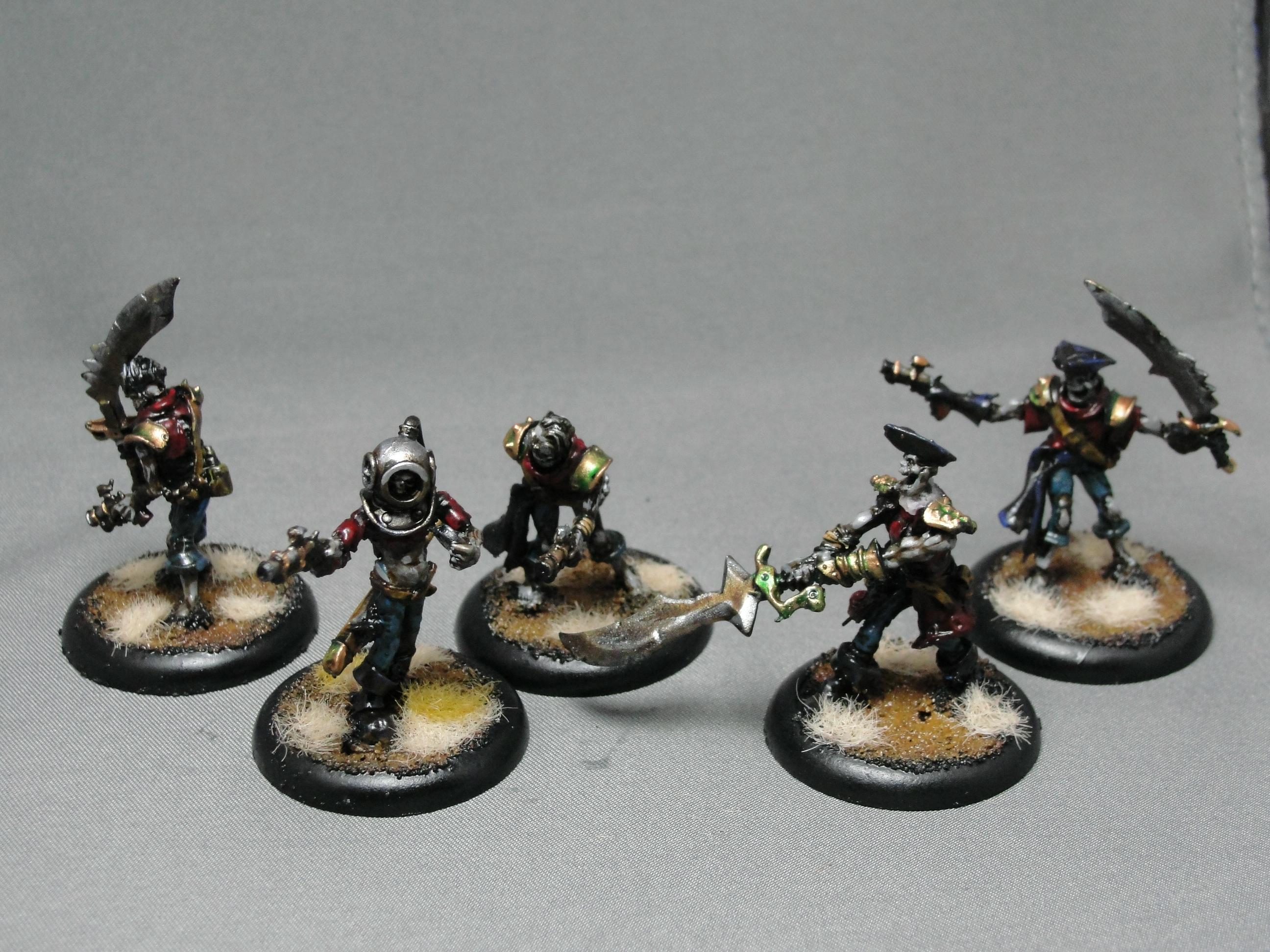 Cryx, Revenant Crew, Warmachine